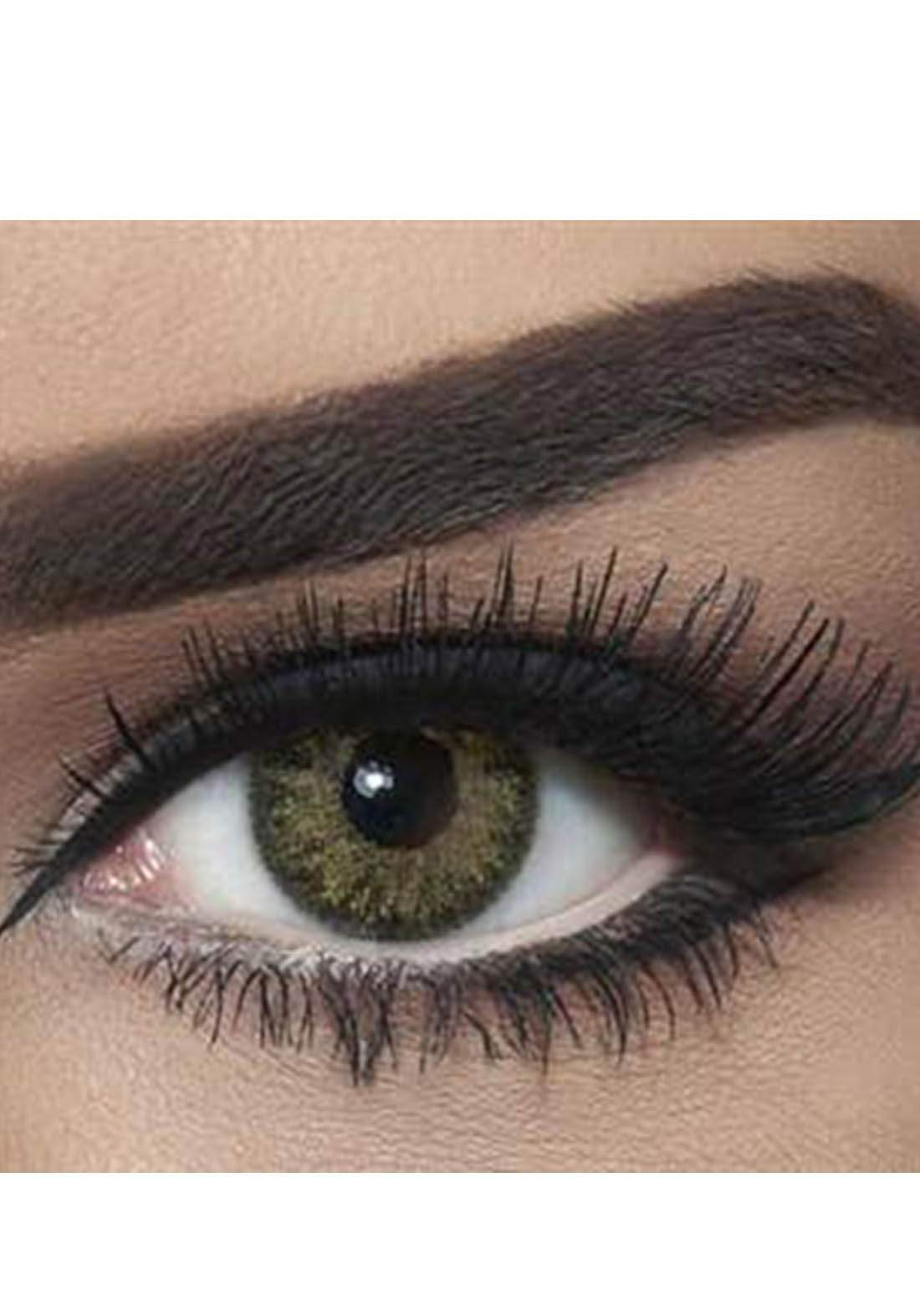 Bella Classic 301018 Contact Lenses 3 Months Use Natural - Green Yellow No.20 عدسات لاصقة