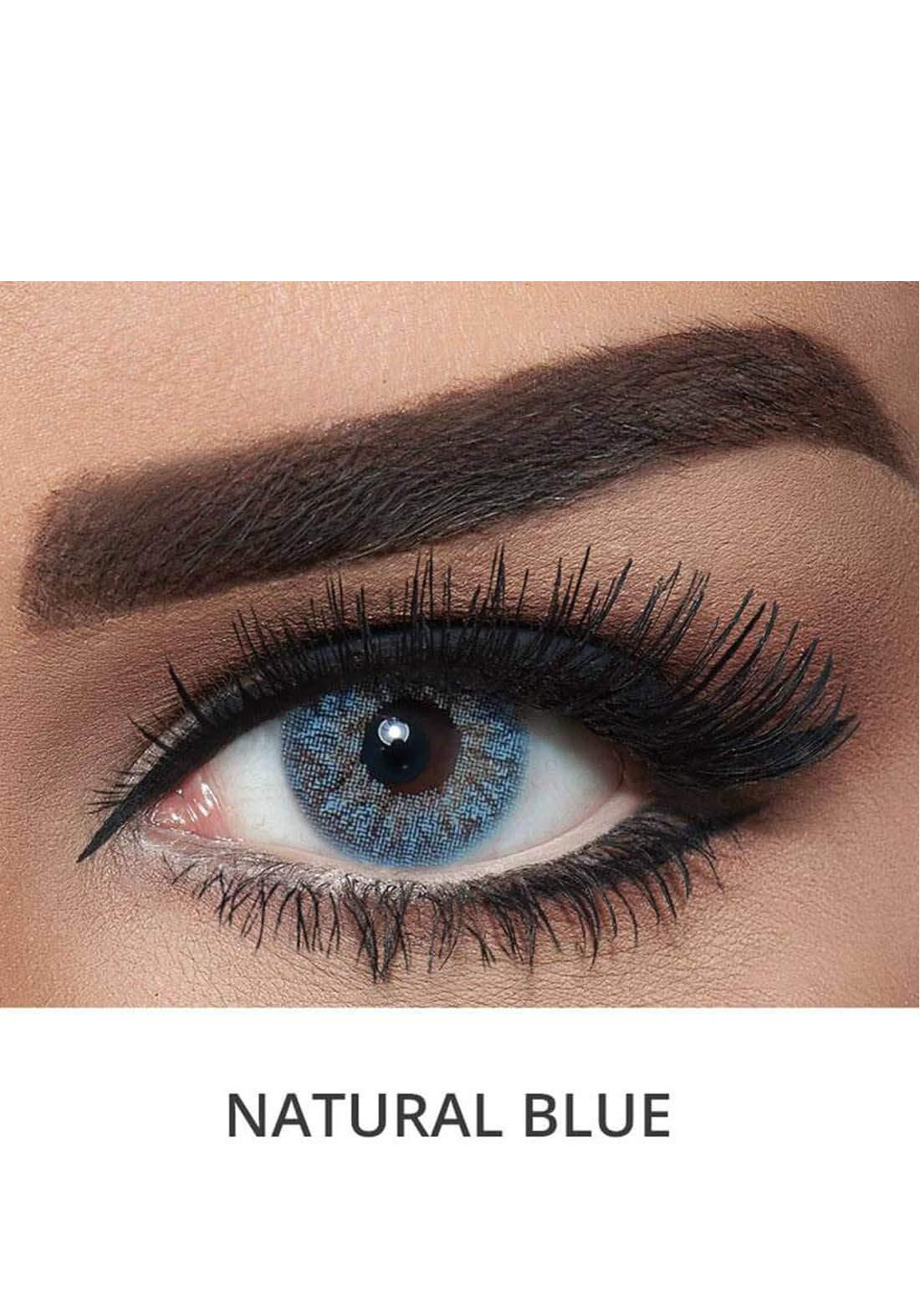 Bella Classic 301019 Contact Lenses 3 Months Use Natural - Blue No.21 عدسات لاصقة
