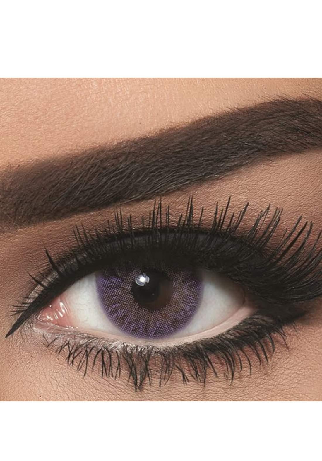 Bella Classic 301022 Contact Lenses 3 Months Use Natural - Violet No.23 عدسات لاصقة