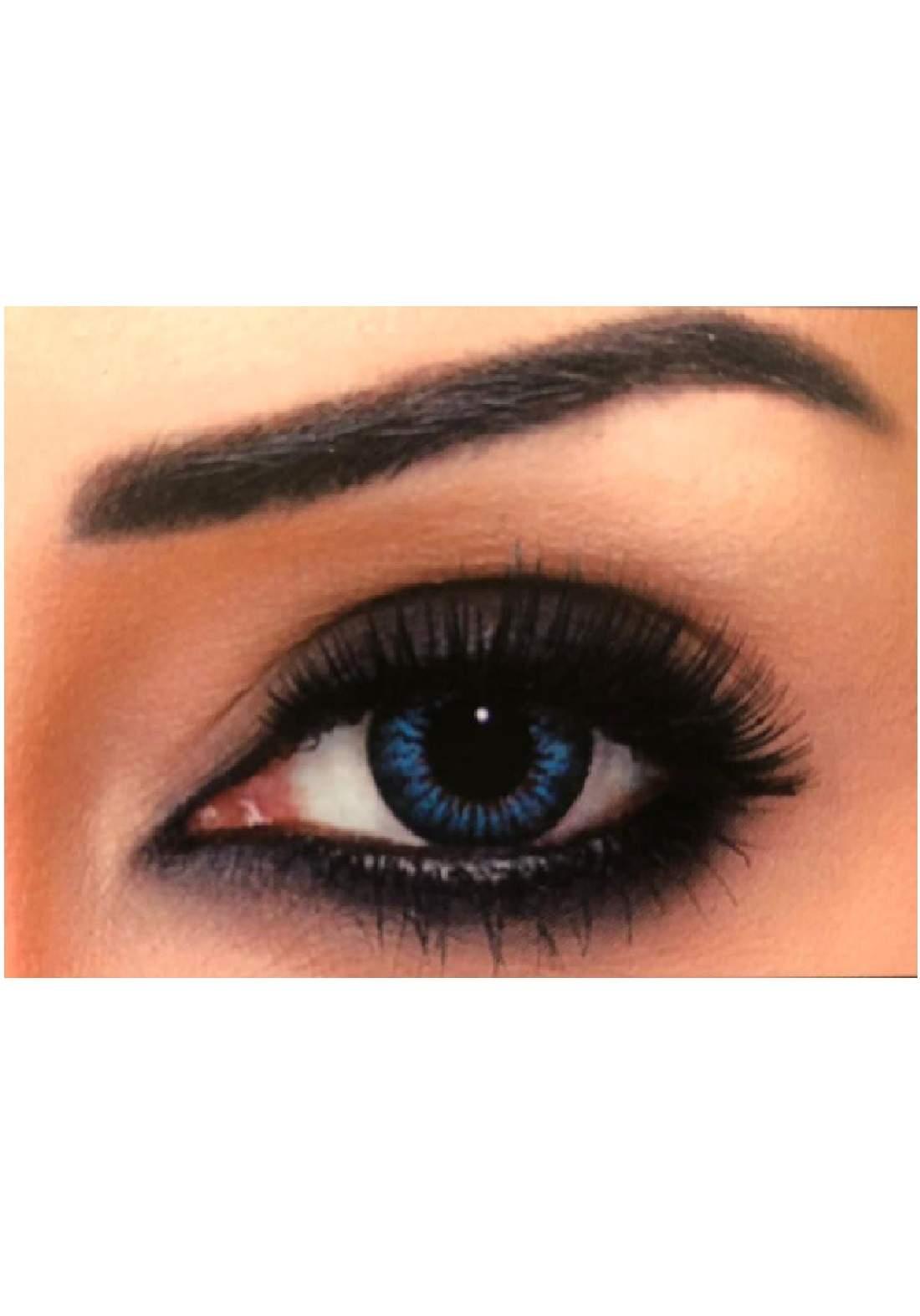 Bella Classic 301034 Contact Lenses 3 Months Use Snow White - Blue  No.35 عدسات لاصقة