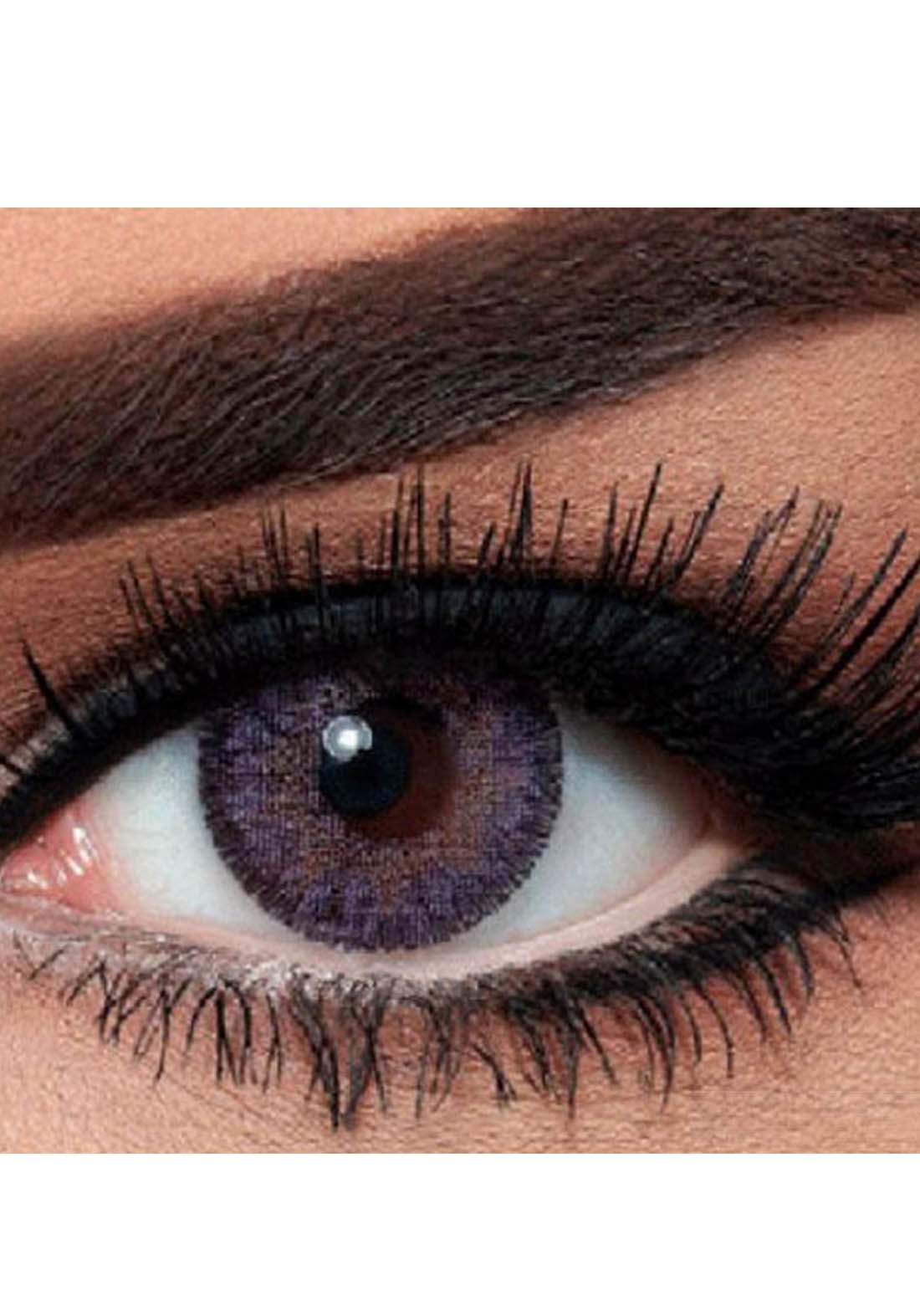 Bella Classic 301002 Contact Lenses 3 Months Use Contour - Violet  No.2 عدسات لاصقة