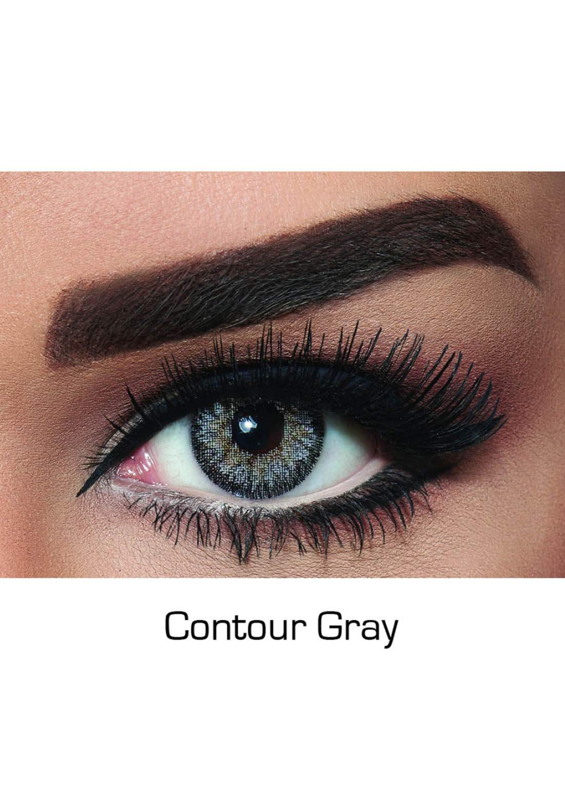 Bella Classic 301004 Contact Lenses 3 Months Use Contour - Gray  No. 4 عدسات لاصقة