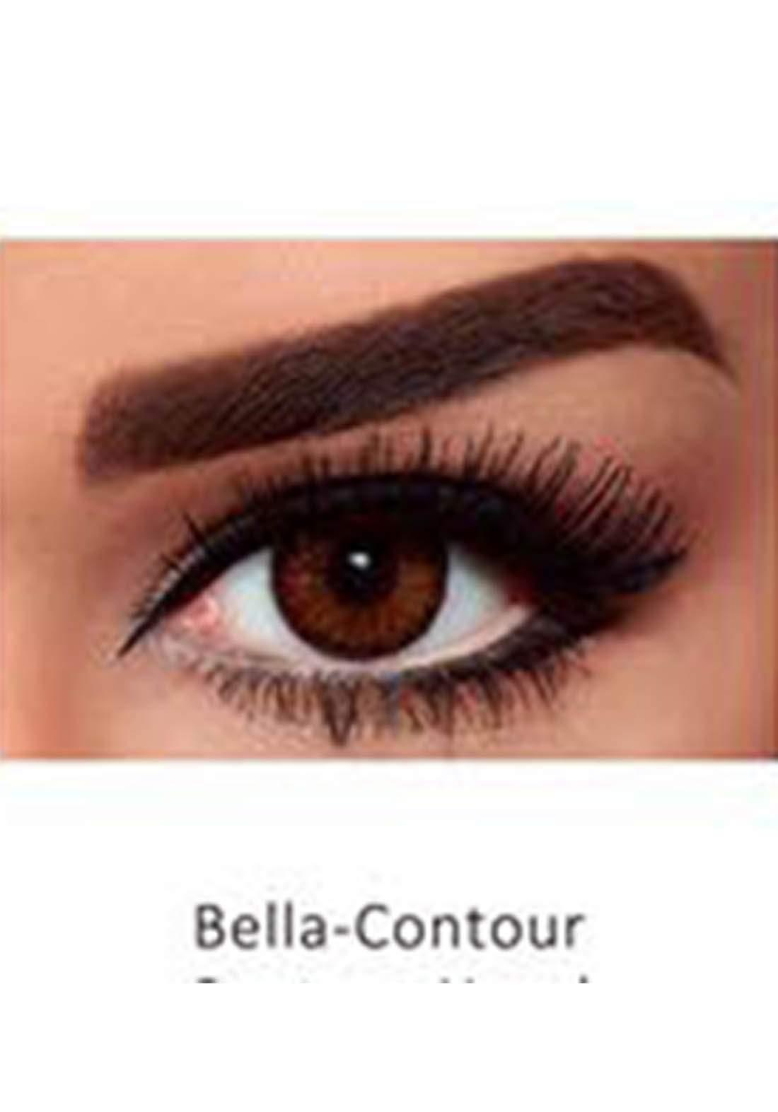 Bella Classic 301005 Contact Lenses 3 Months Use Contour - Hazel  No.5 عدسات لاصقة