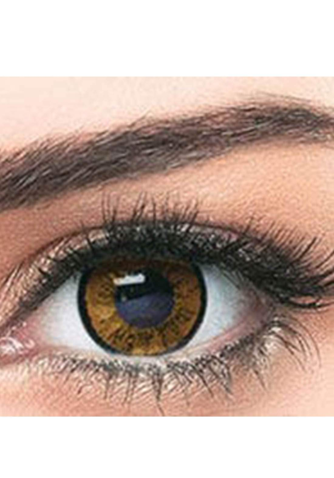 Bella Classic 301007 Contact Lenses 3 Months Use Elegance - Brown  No.7 عدسات لاصقة