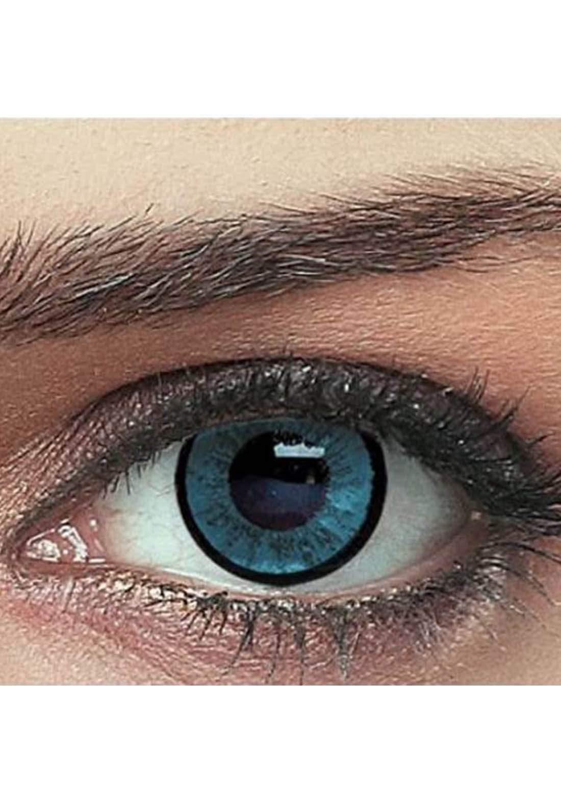 Bella Classic 301008 Contact Lenses 3 Months Use Elegance - Blue  No.8 عدسات لاصقة