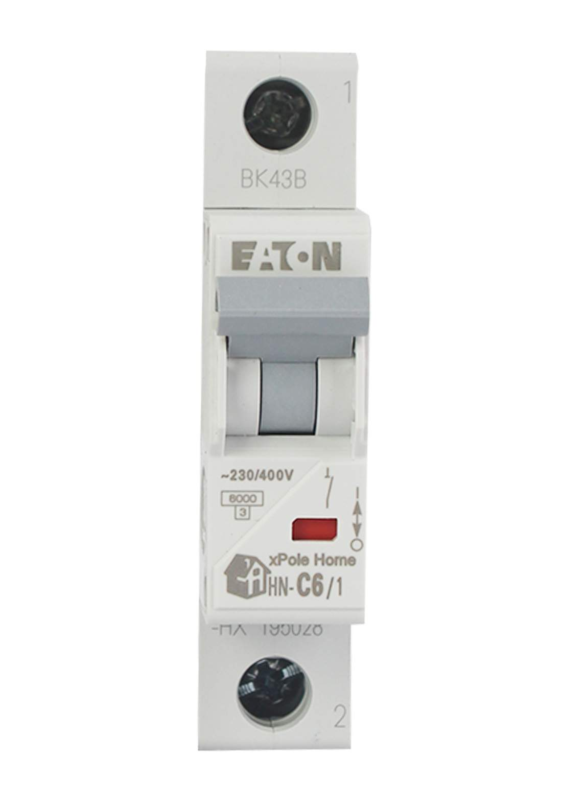 Eaton HN-C6/1-HX Circuit Breaker 6A قاطع تيار الكهرباء (جوزة)