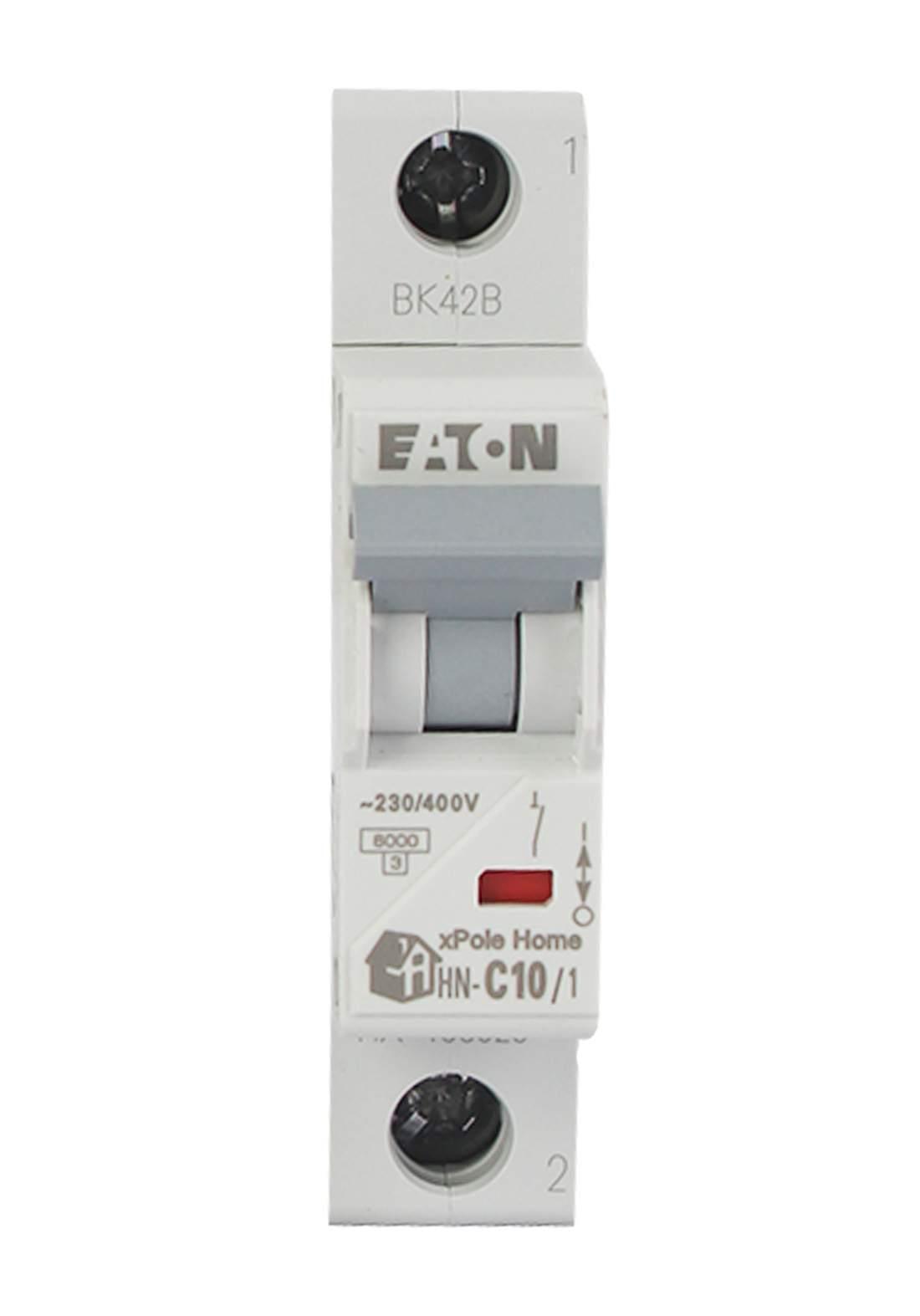 Eaton HN-C10/1-HX Circuit Breaker 10A قاطع تيار الكهرباء (جوزة)