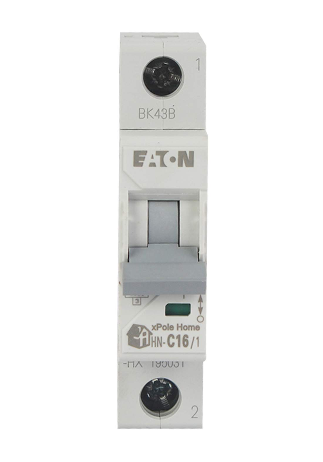 Eaton HN-C16/1-HX Circuit Breaker 16A قاطع تيار الكهرباء (جوزة)