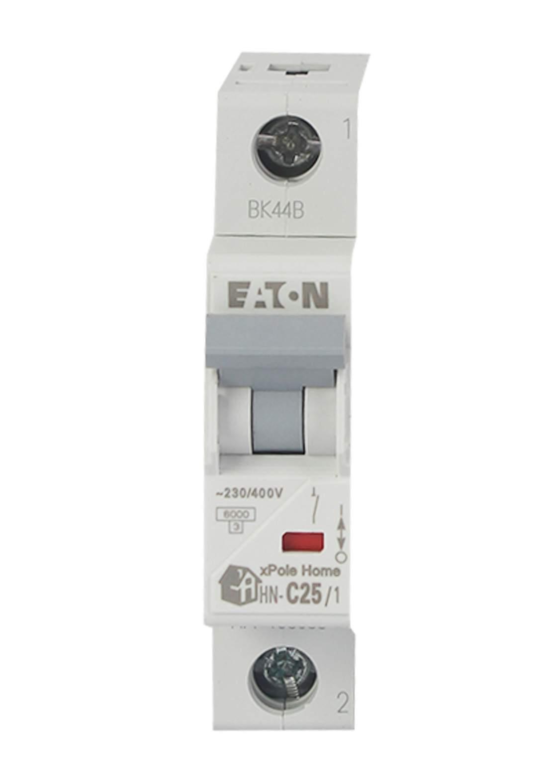 Eaton HN-C25/1-HX Circuit Breaker 25A قاطع تيار الكهرباء (جوزة)