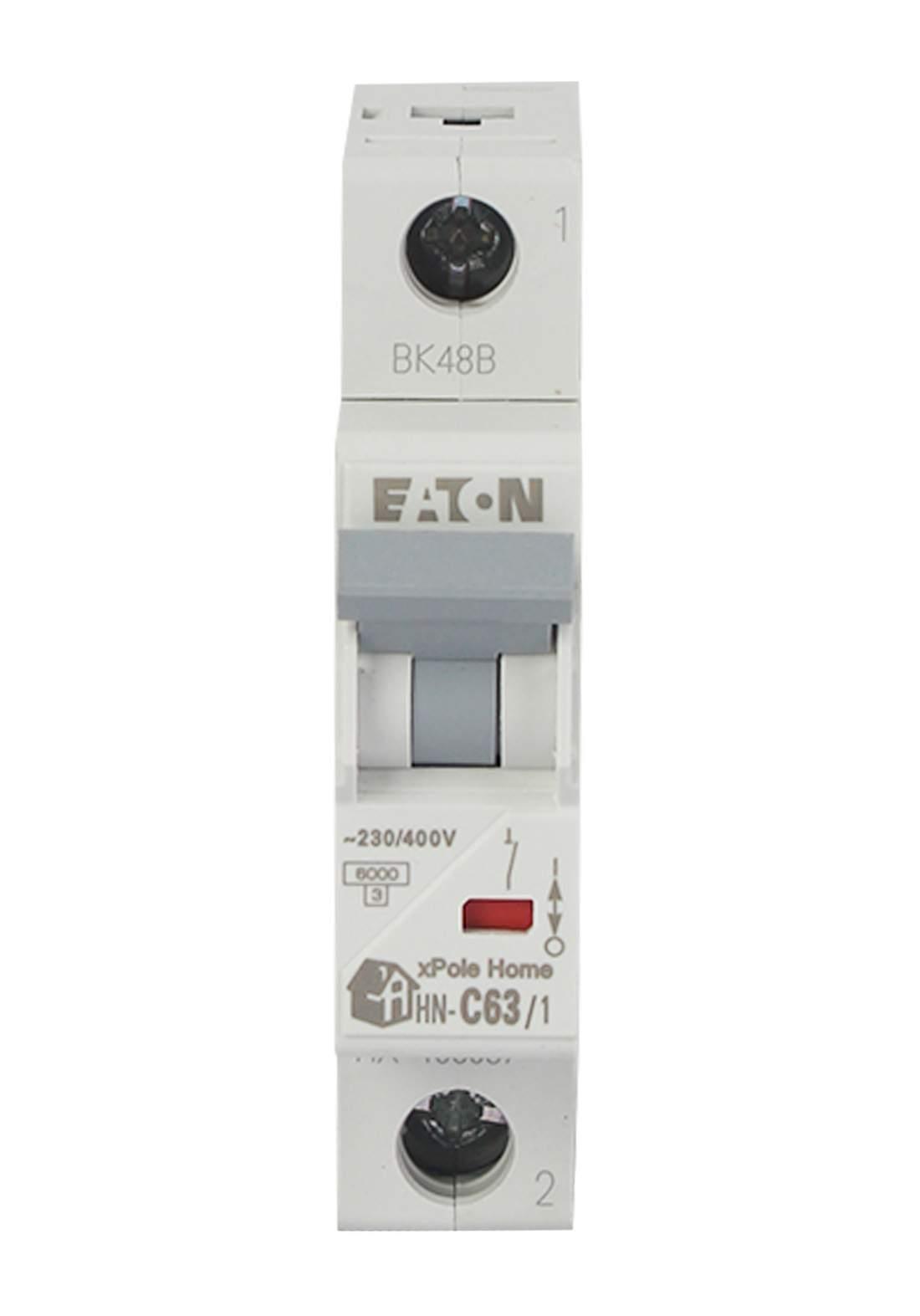 Eaton HN-C63/1-HX Circuit Breaker 63A قاطع تيار الكهرباء (جوزة)