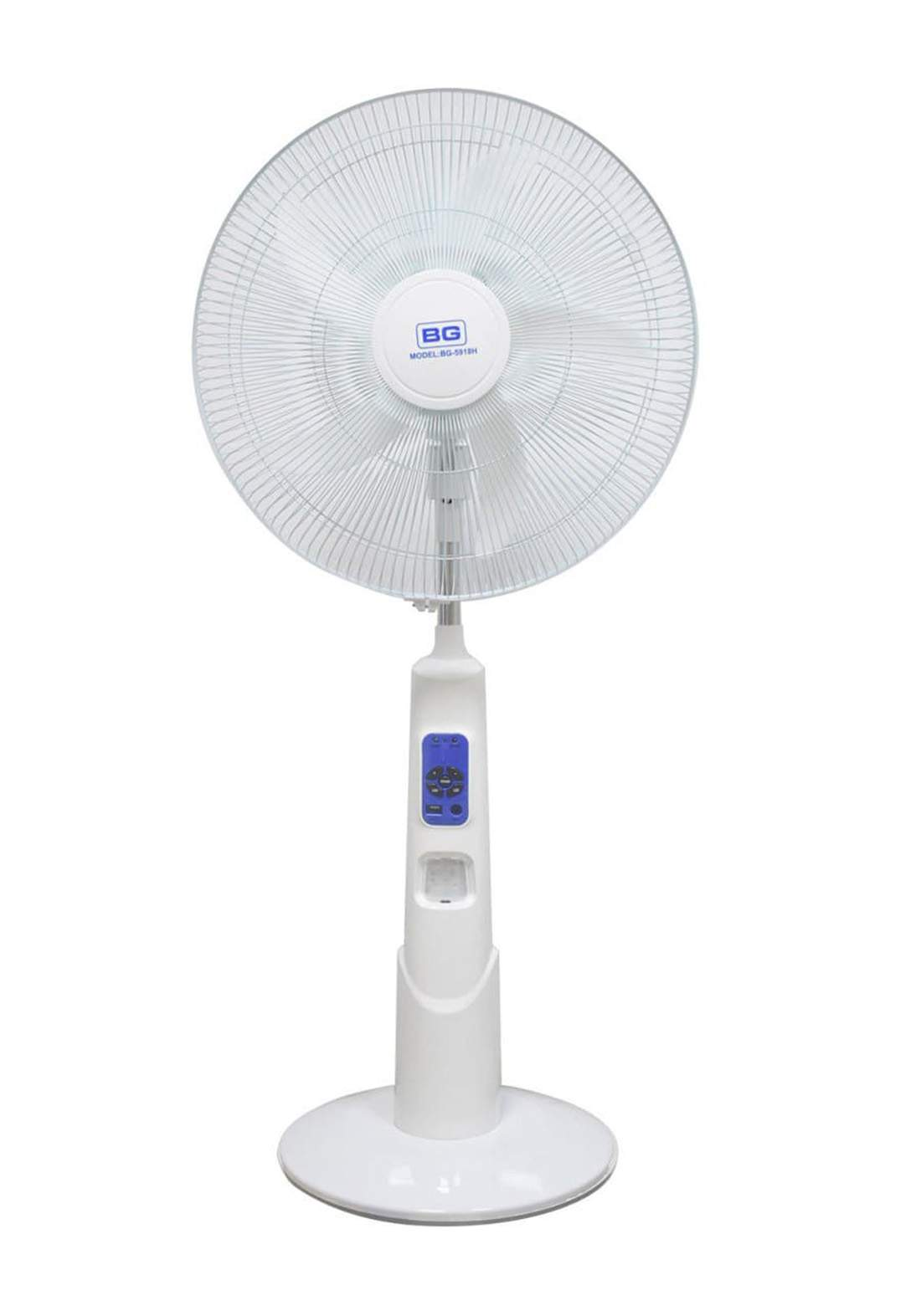 Bg BG-5918H Floor Fan 12V مروحة أرضية عامودية