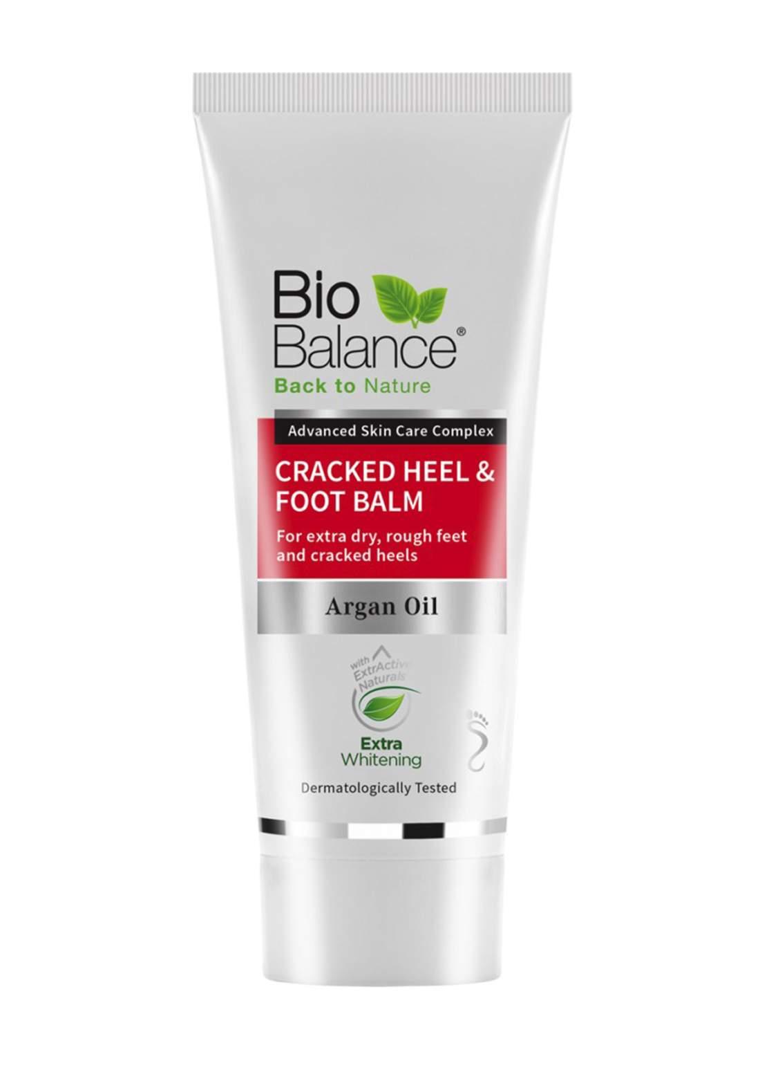 Bio-Balance  Argan Oil Cracked Heel & Foot Balm 60ml كريم للقدم