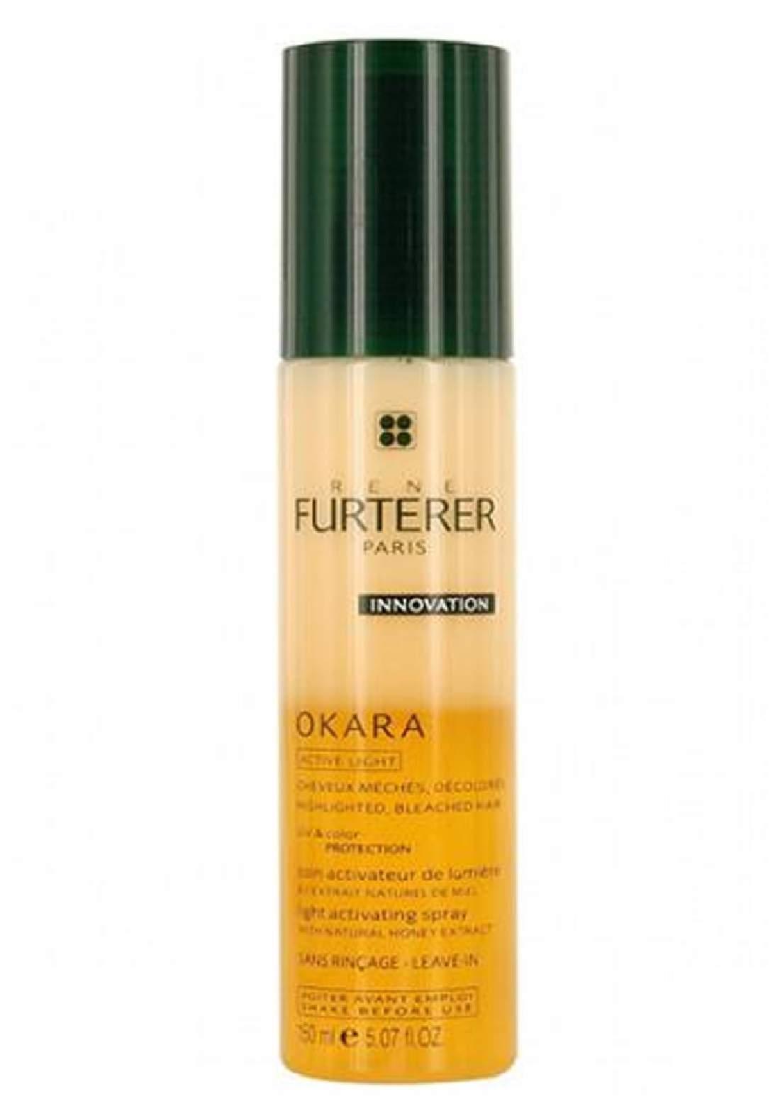 rene furterer LIGHT ACTIVATING SPRAY 125 MLسبري شعر لتعزيز لون الشعر المصبوغ