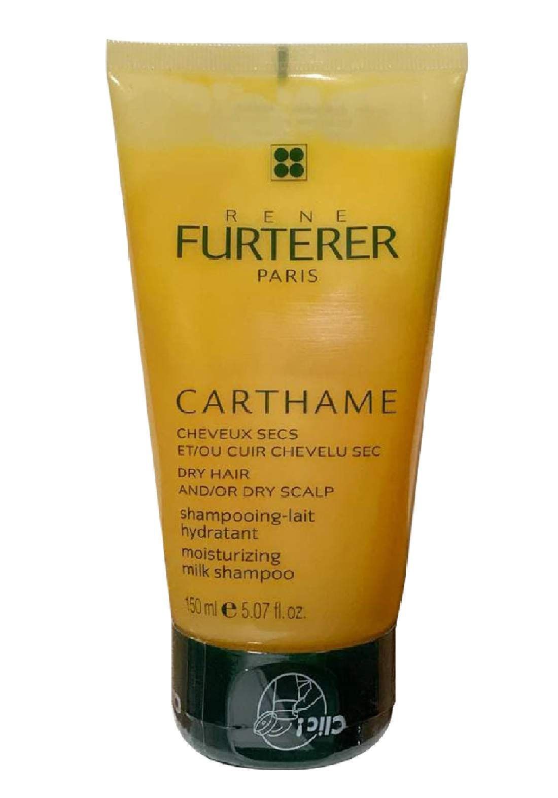 RENE FURTERER CARTHAME 150MLشامبو مرطب للشعر الجاف  والفروة الراس الجافة