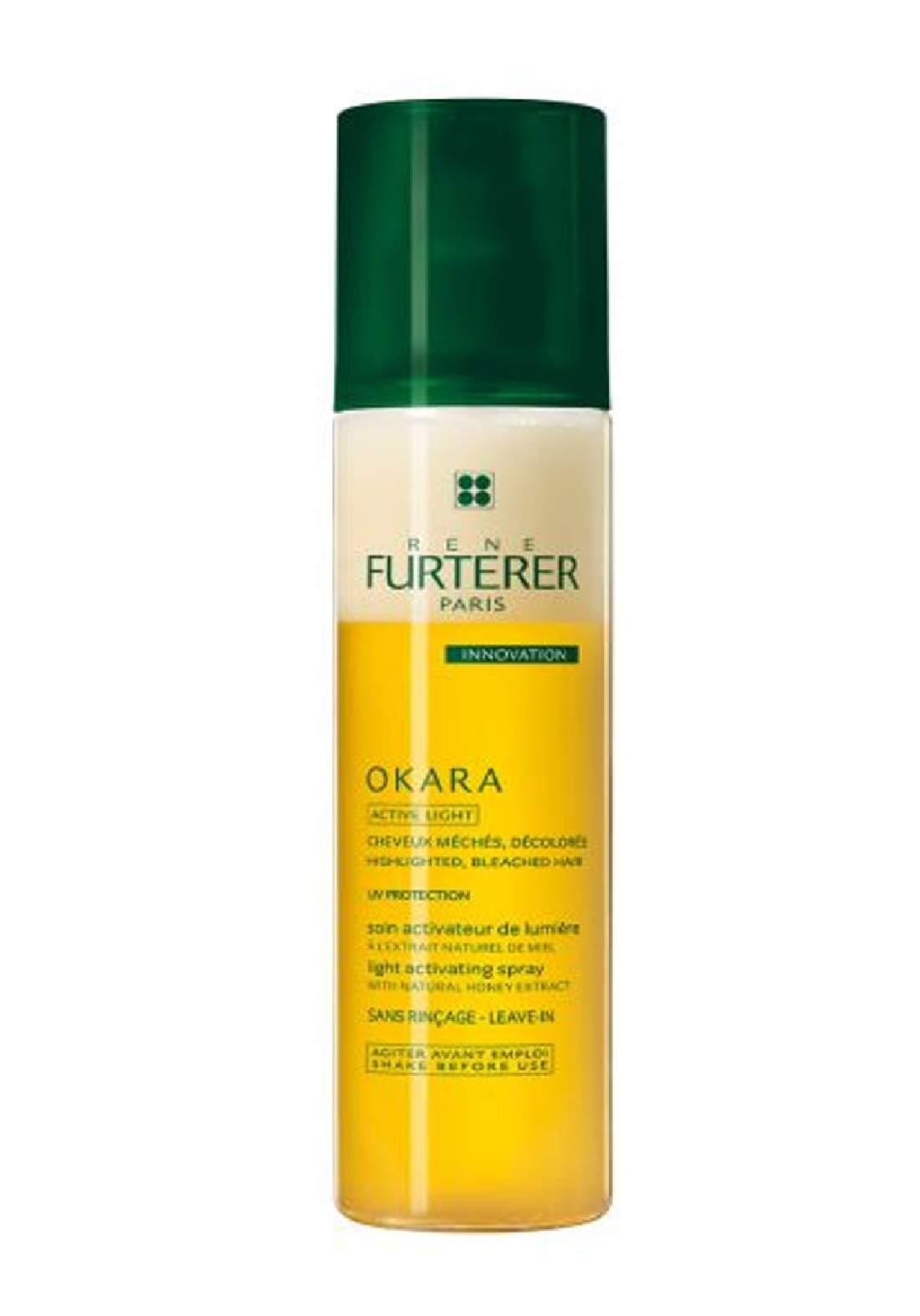 RENE FURTERER OKARA light activating spray 150 ml سبري تكثيف ومعالجة الشعر