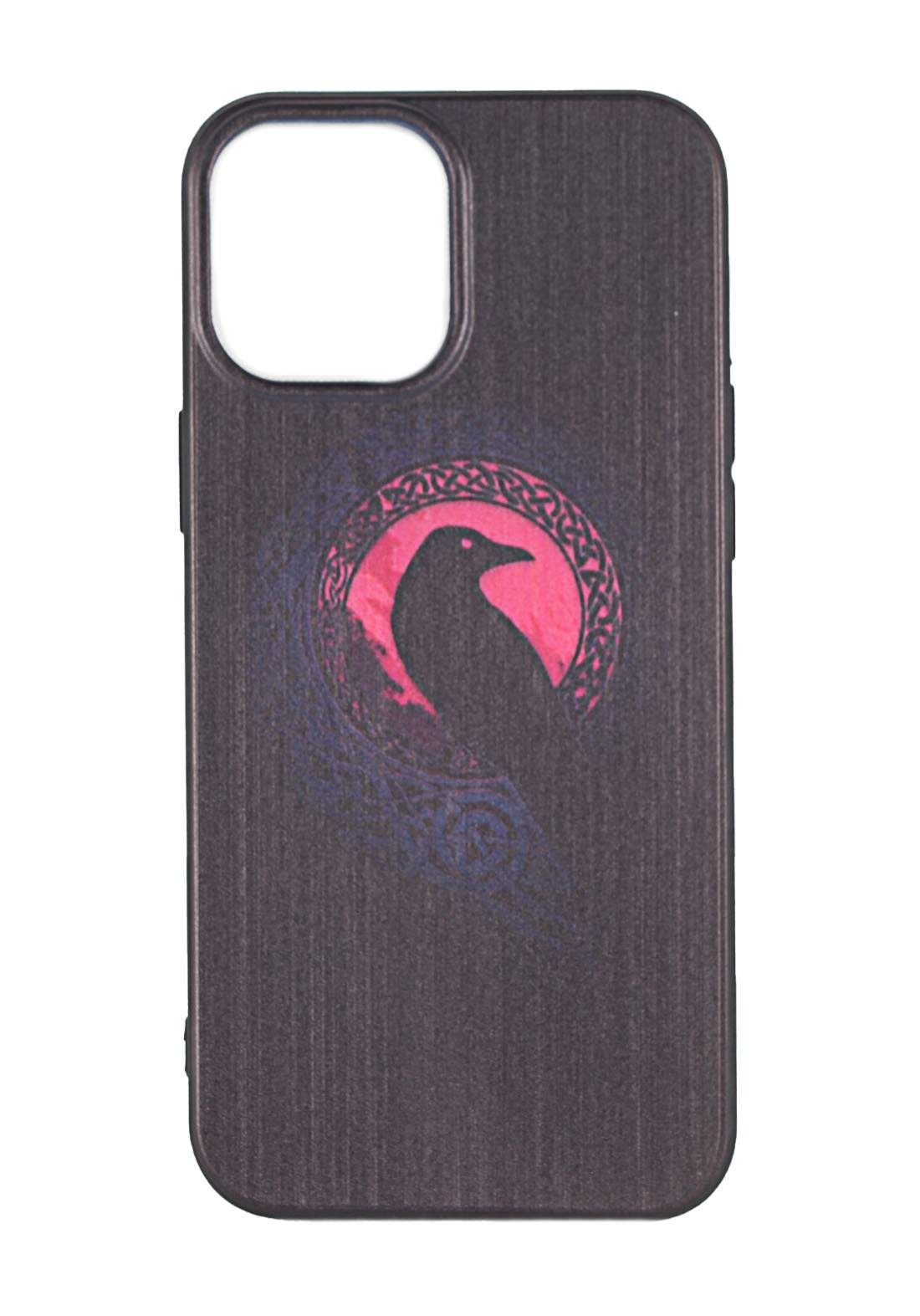 Protective Cover For Iphone 12 -Black حافظة موبايل