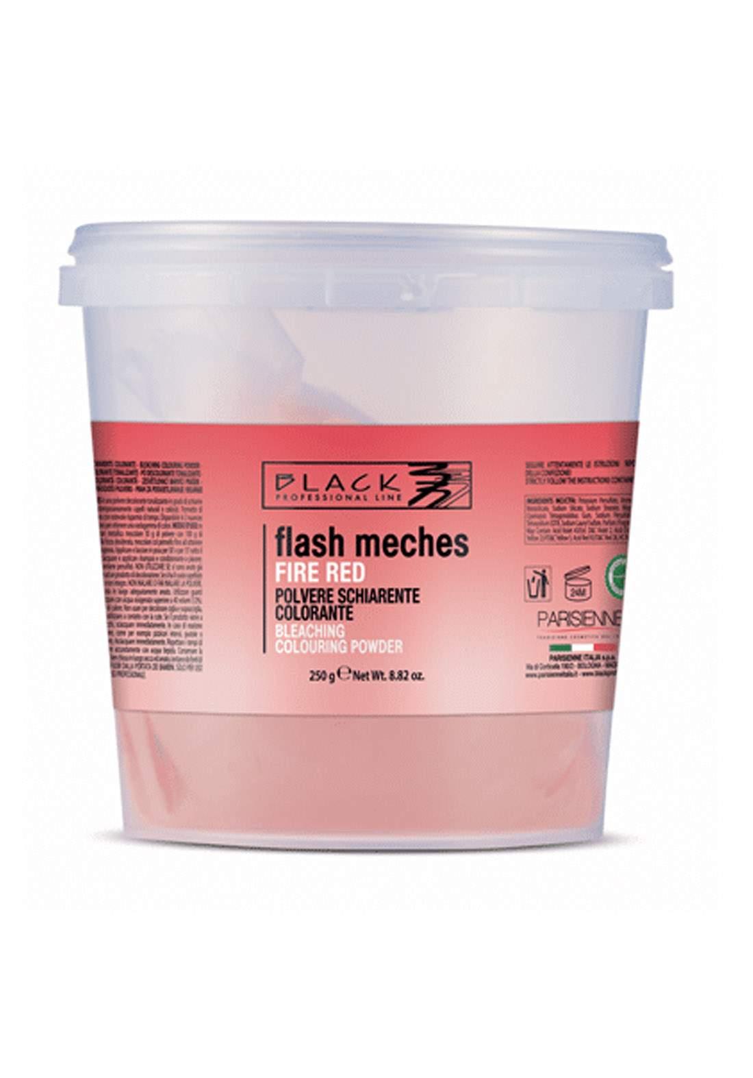 Black Flash Meches Tinting Bleaching Powder 250g Magenta ميش بودرة