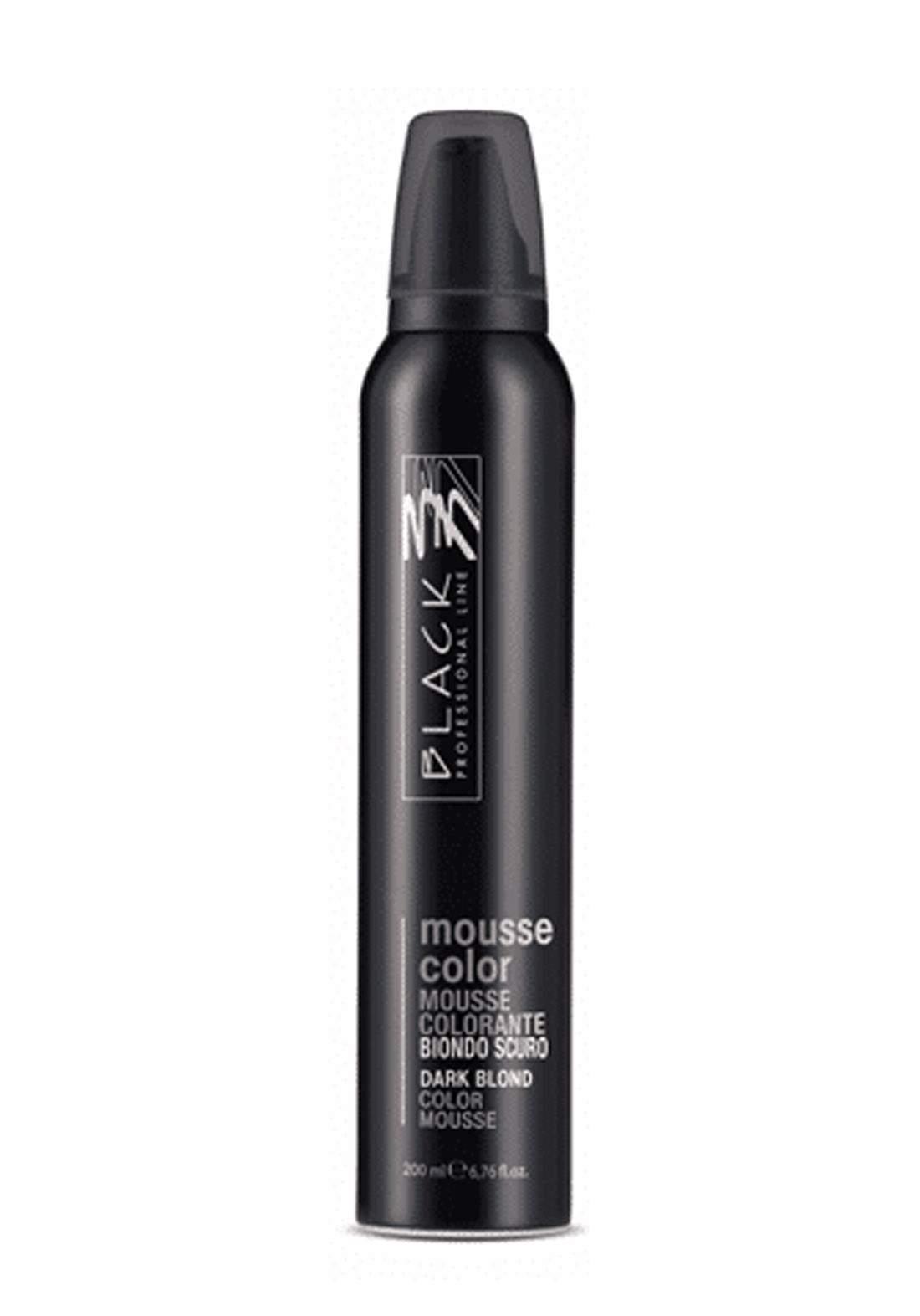 Black Mousse Color Protective Coloring 200ml Dark Blonde  موس حماية اللون