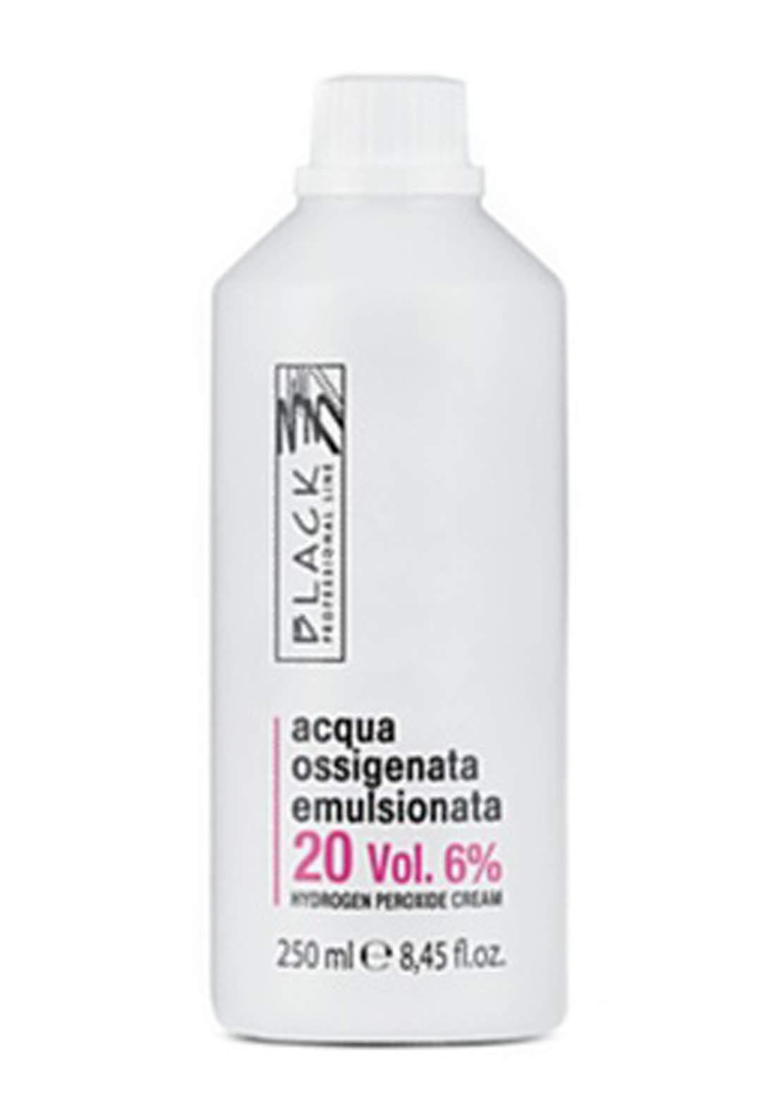 Black Professional Creamy 6% Hydrogen Peroxide 250ml - Oxidizing Cream 20vol كريم مؤكسد للصبغة