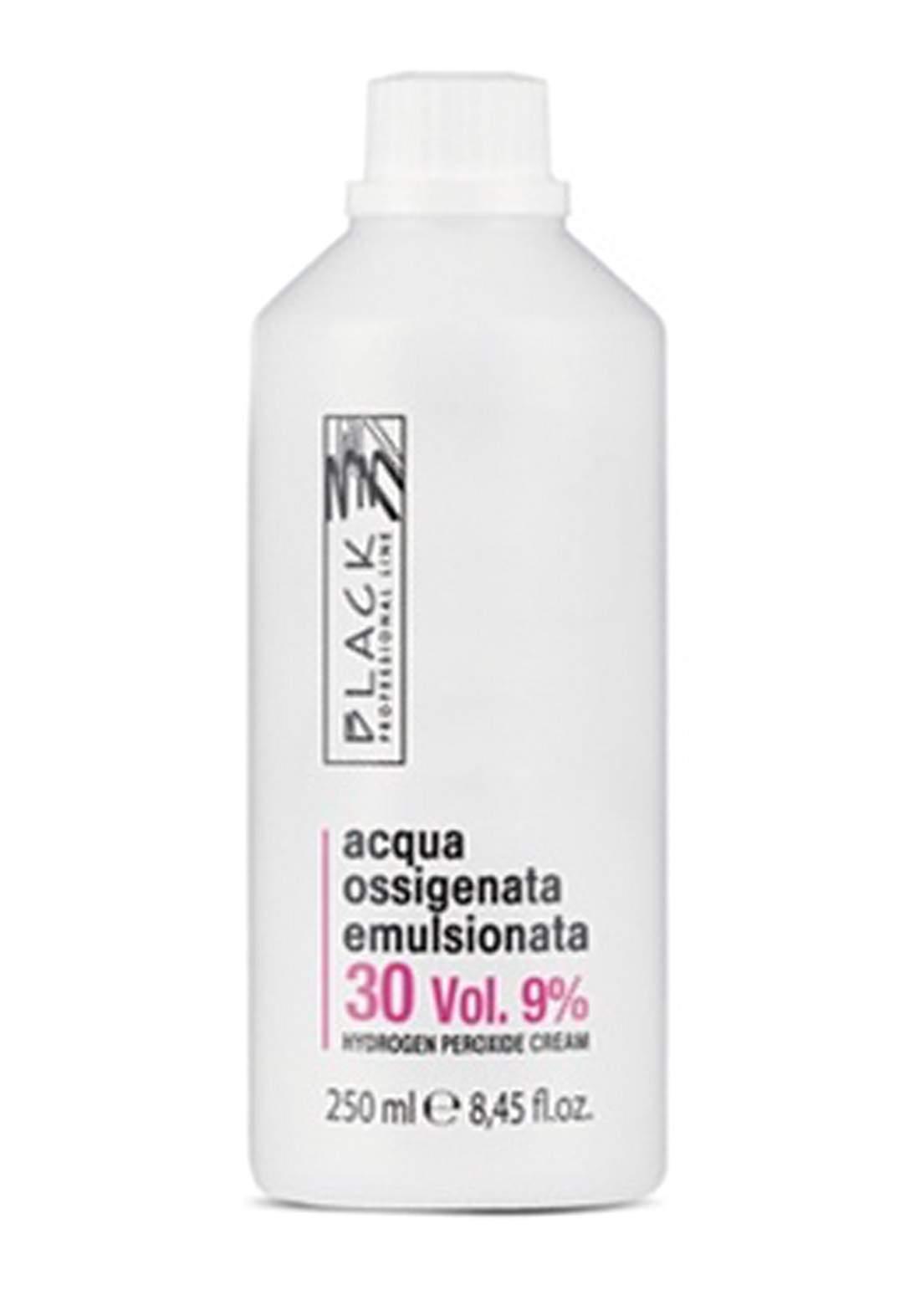 Black Professional Creamy 9% Hydrogen Peroxide 250ml - Oxidizing Cream 30vol كريم مؤكسد للصبغة