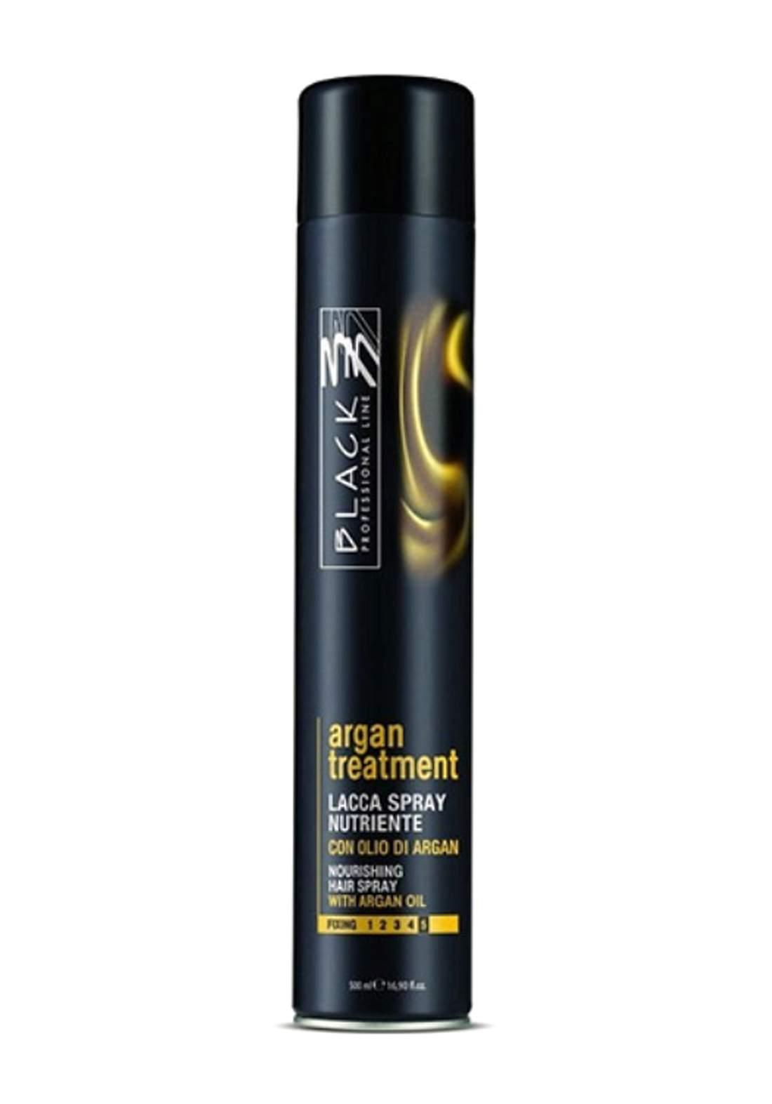 Black Professional Argan Treatment Spray 500ml سبري للشعر