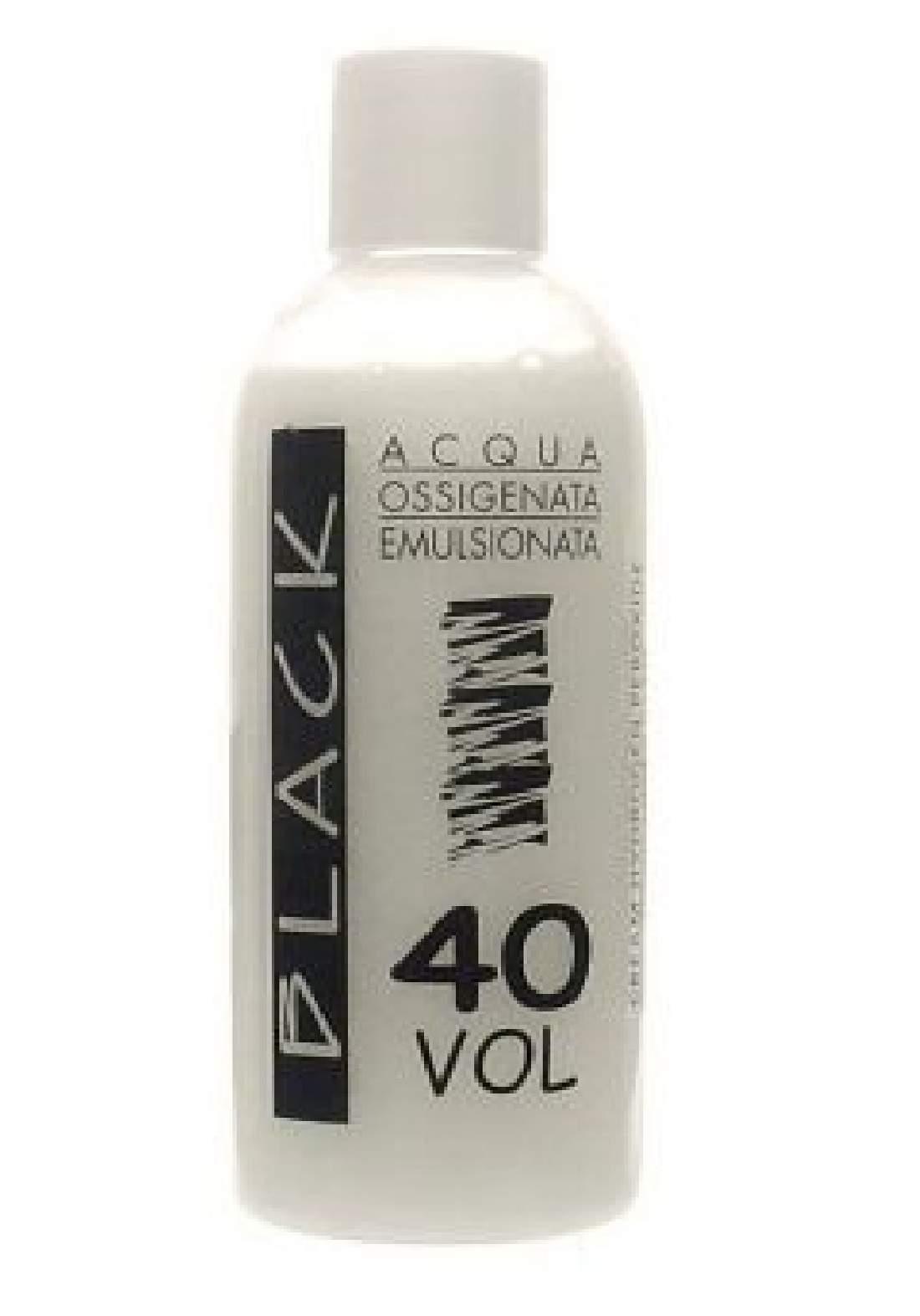 Black Professional Creamy 12% Hydrogen Peroxide 250ml - Oxidizing Cream 40vol كريم مؤكسد للصبغة