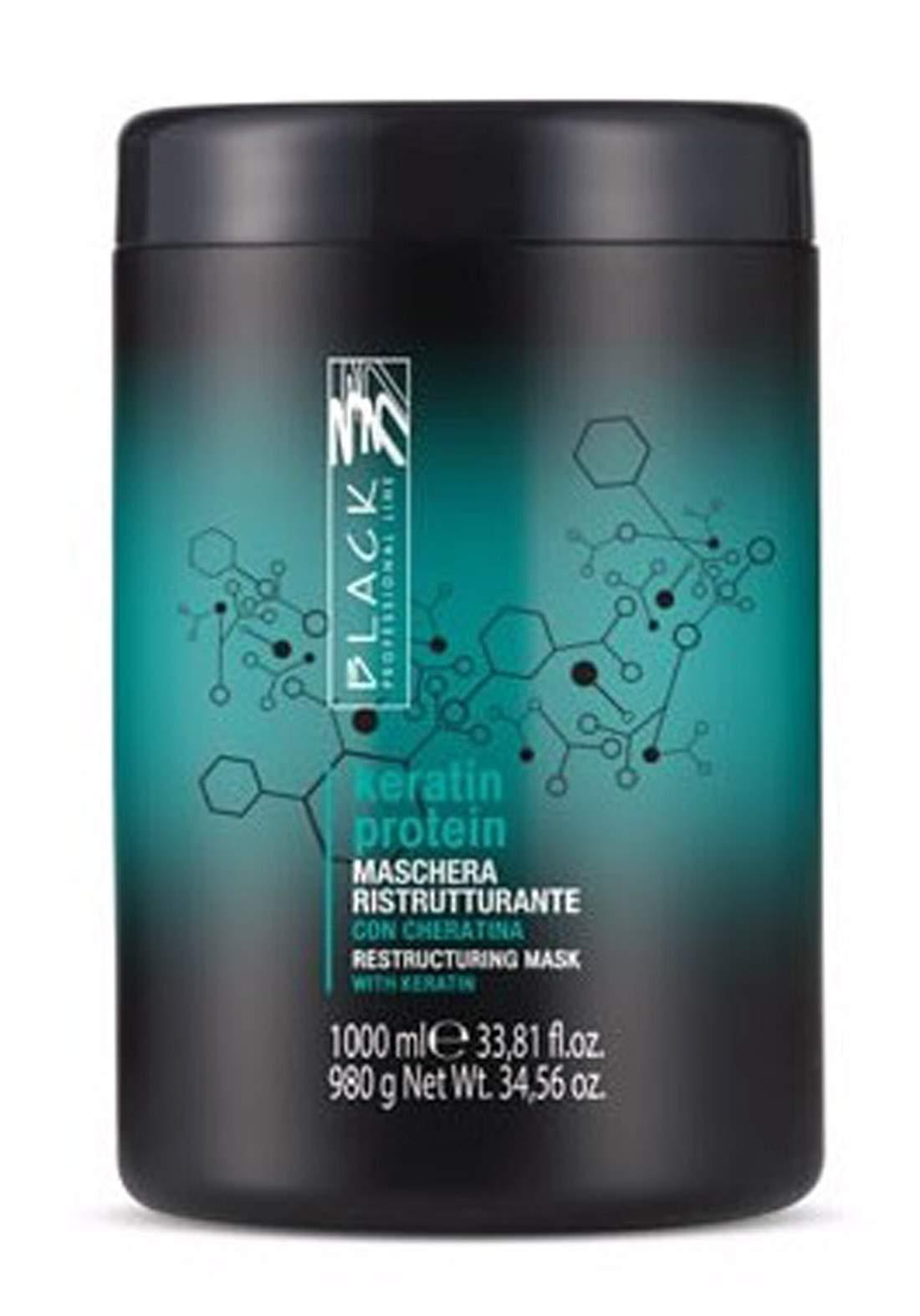 Black Keratin Protein Mask 1000ml ماسك للشعر