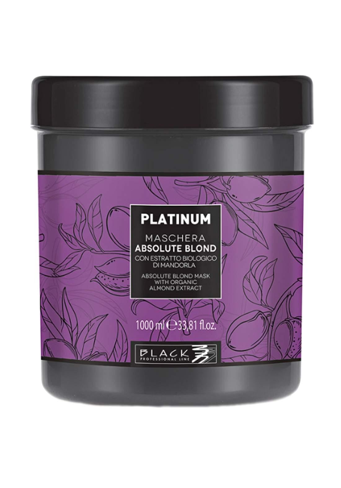 Black Professional Line Hair Mask Platinum Blonde 1000 ml ماسك للشعر