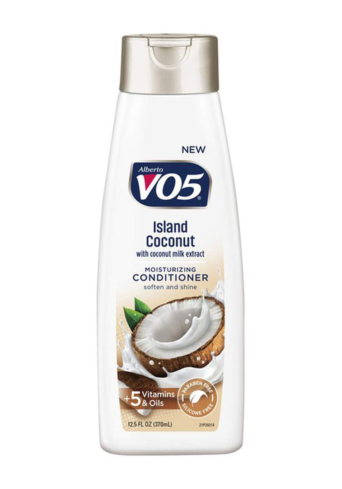 VO5 Moisture Milks Conditioner Island Coconut  370ml بلسم للشعر