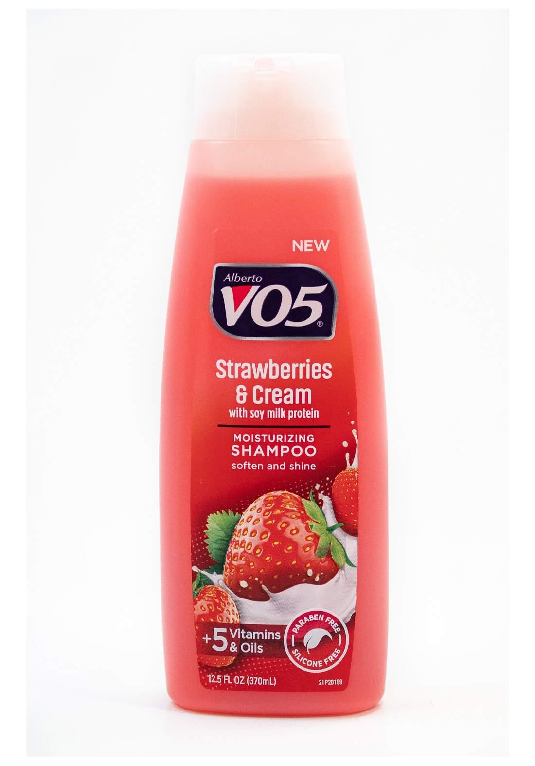 VO5 Strawberry And Cream Shampoo 370 ml شامبو للشعر