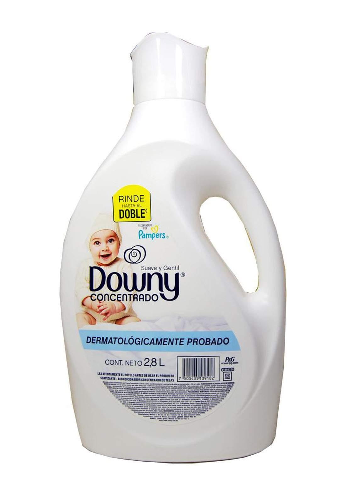Downy Soft N Gentle Fabric Softener 2.8L سائل منعم للاقمشة