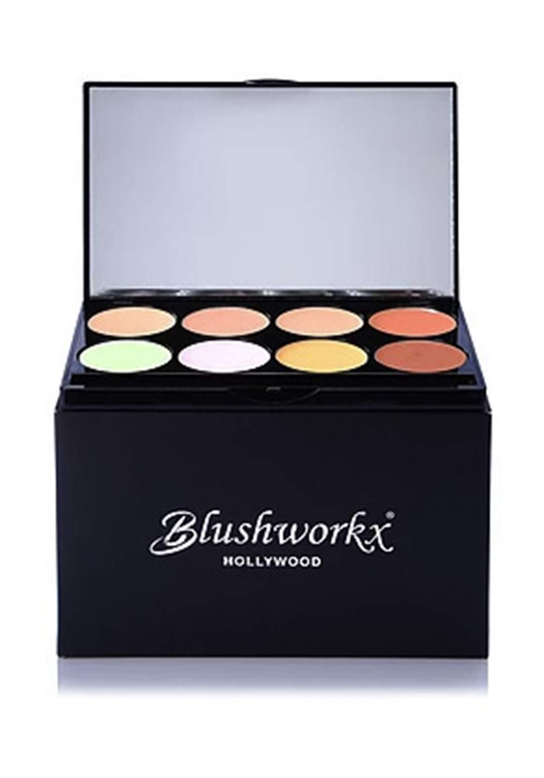 Blushworkx Hollywood Camouflage 8Pcs Kit باليت مصحح وخافي للعيوب