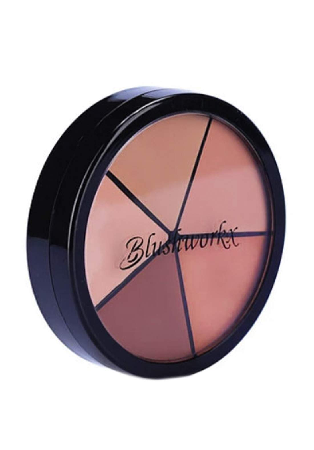 Blushworkx Hollywood All Around Contour Cover Corrective Tones باليت مصحح وكونتور