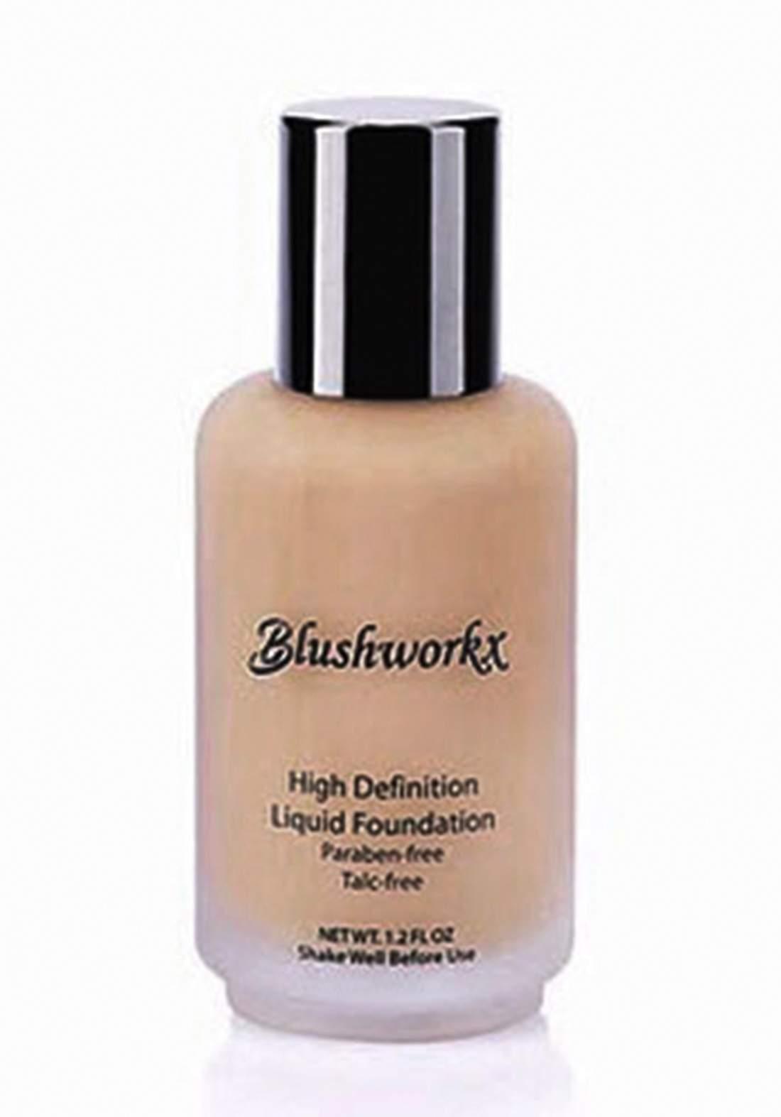 Blushworkx Hollywood High Definition Liquid Foundation 35ml Light كريم اساس