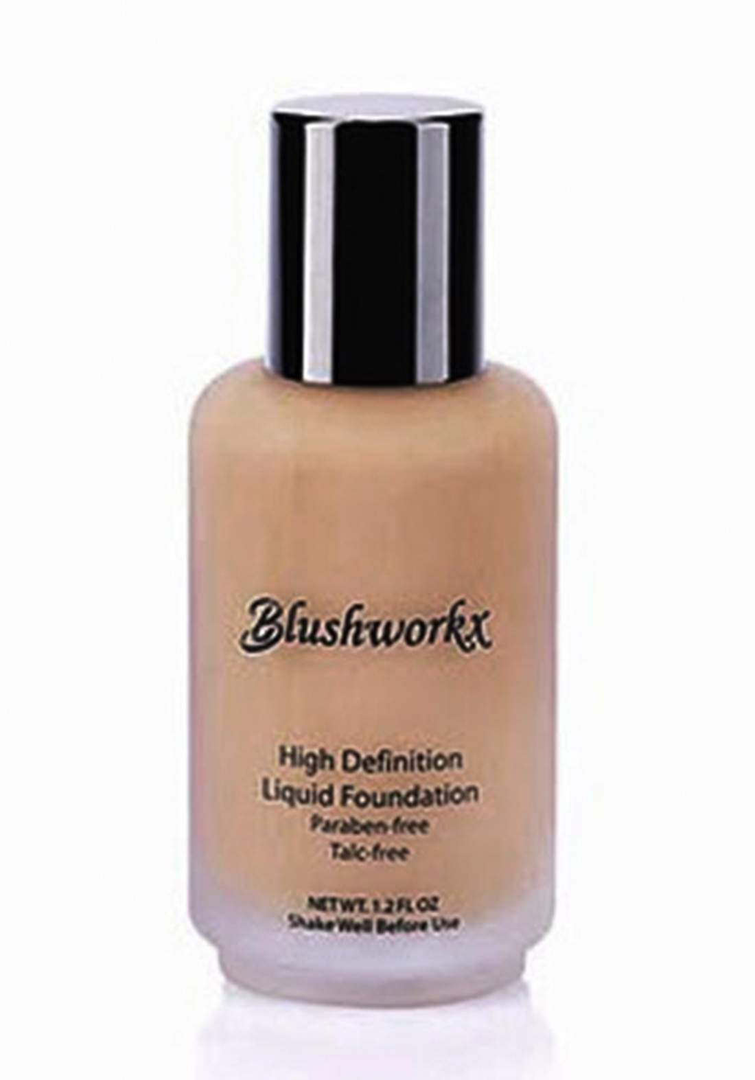 Blushworkx Hollywood High Definition Liquid Foundation 35ml Medium Light كريم اساس