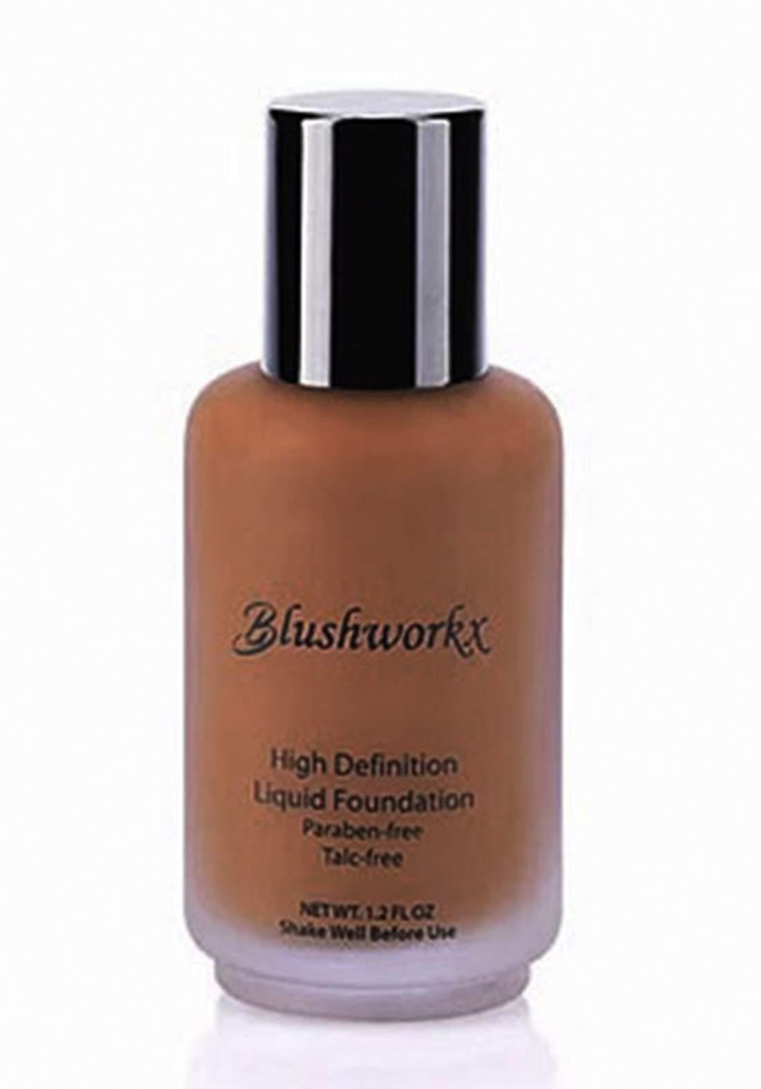 Blushworkx Hollywood High Definition Liquid Foundation 35ml Dark كريم اساس