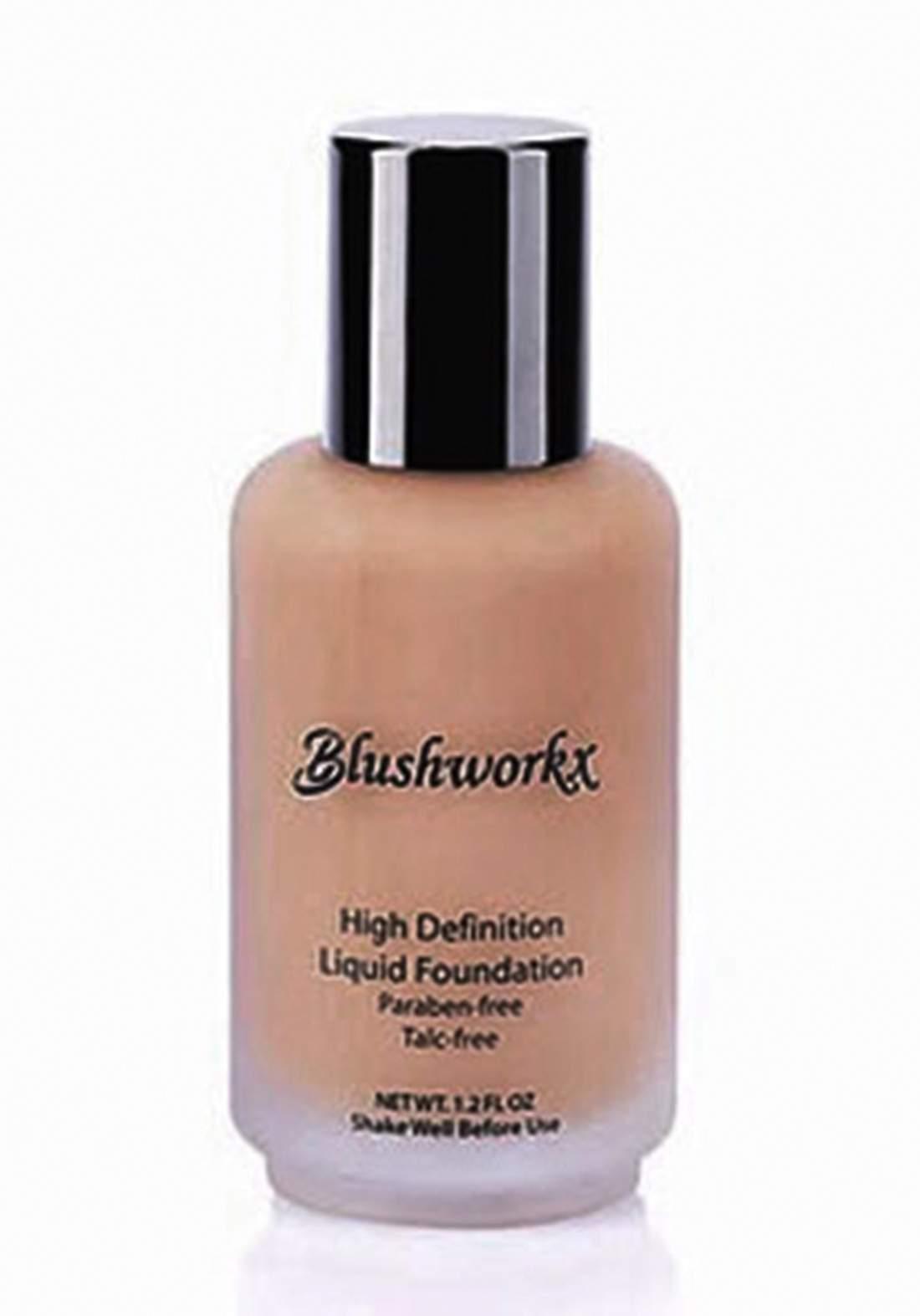 Blushworkx Hollywood High Definition Liquid Foundation 35ml Medium كريم اساس