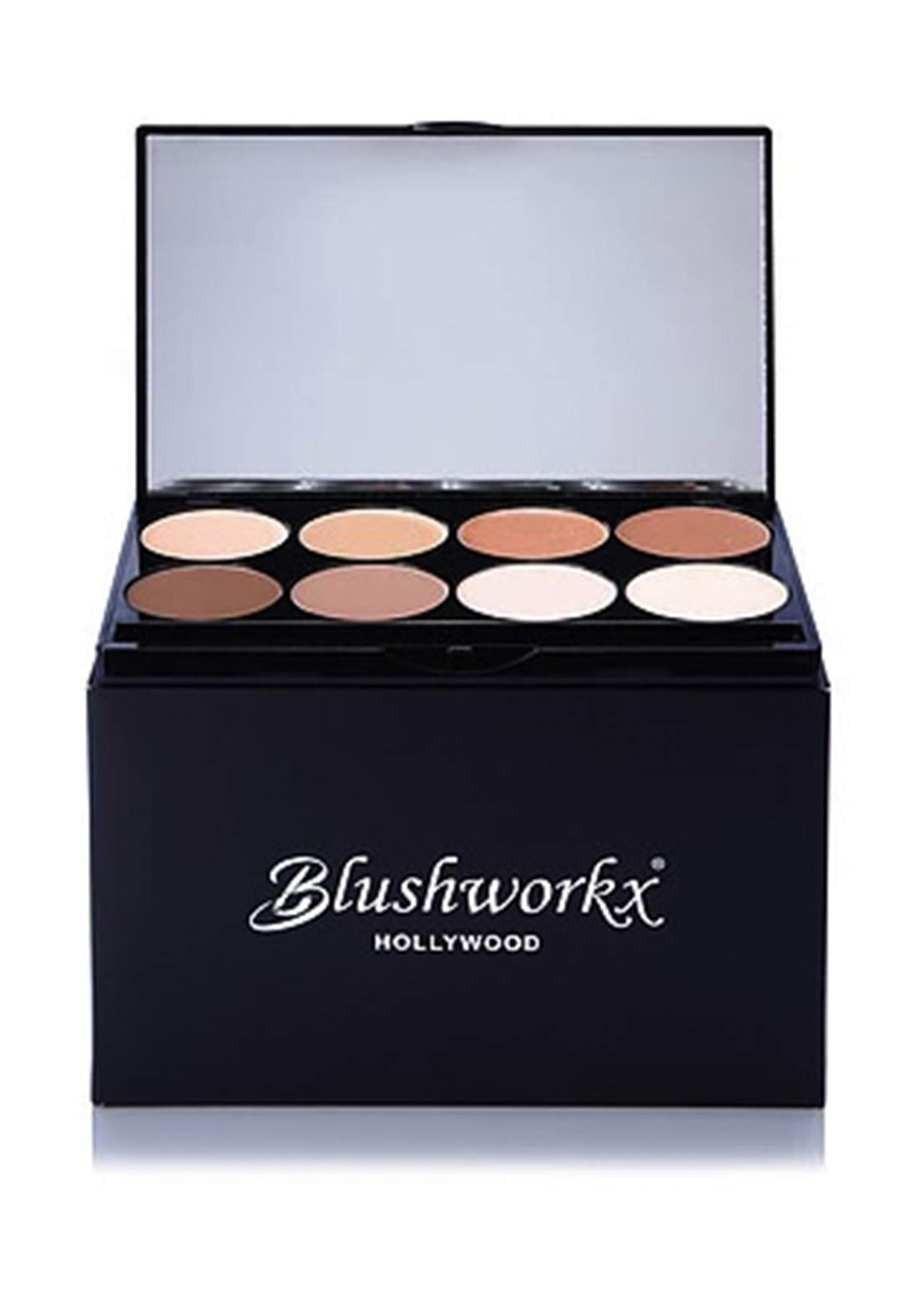 Blushworkx Hollywood Ultimate Contour 8Pcs Kit باليت كونتور
