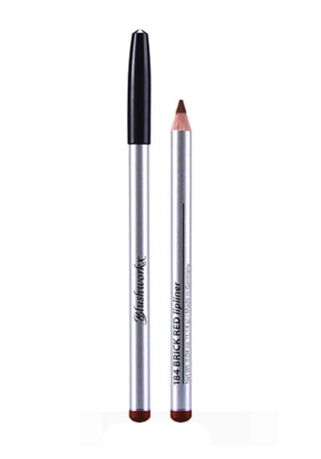 Blushworkx Hollywood Lip Liner Pencil No.180 Warm Brandy 1.14g محدد الشفاه