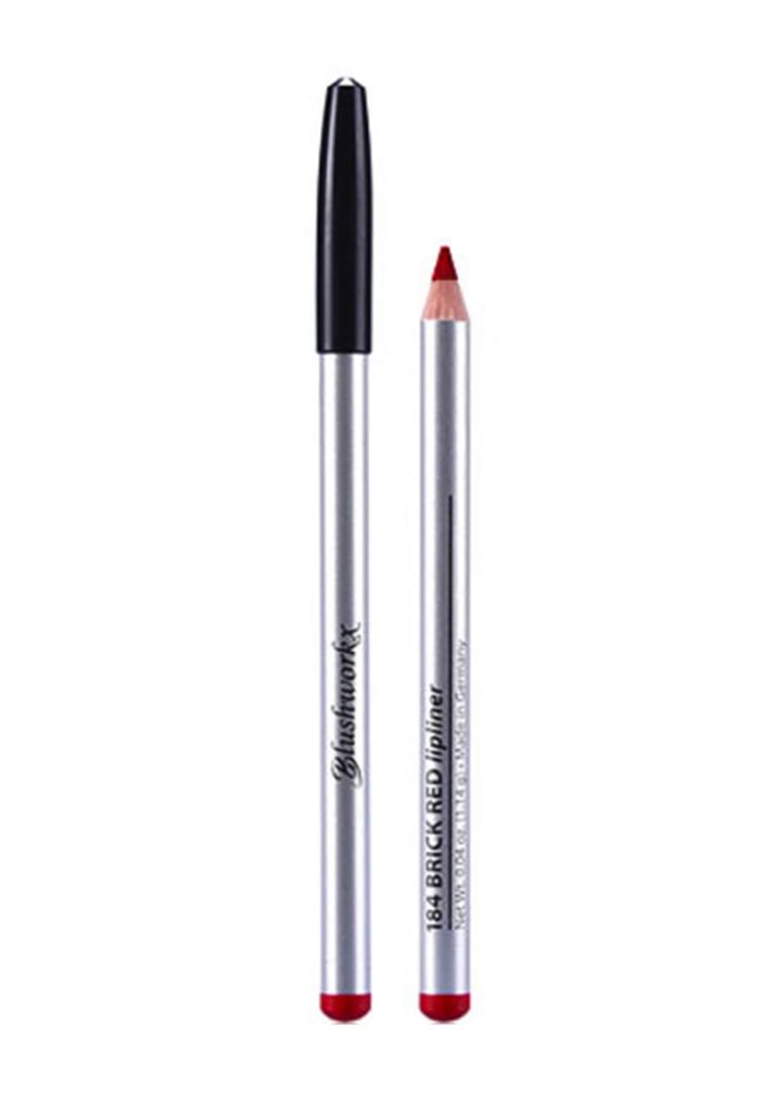 Blushworkx Hollywood Lip Liner Pencil No.186 Red Velvet 1.14g محدد الشفاه