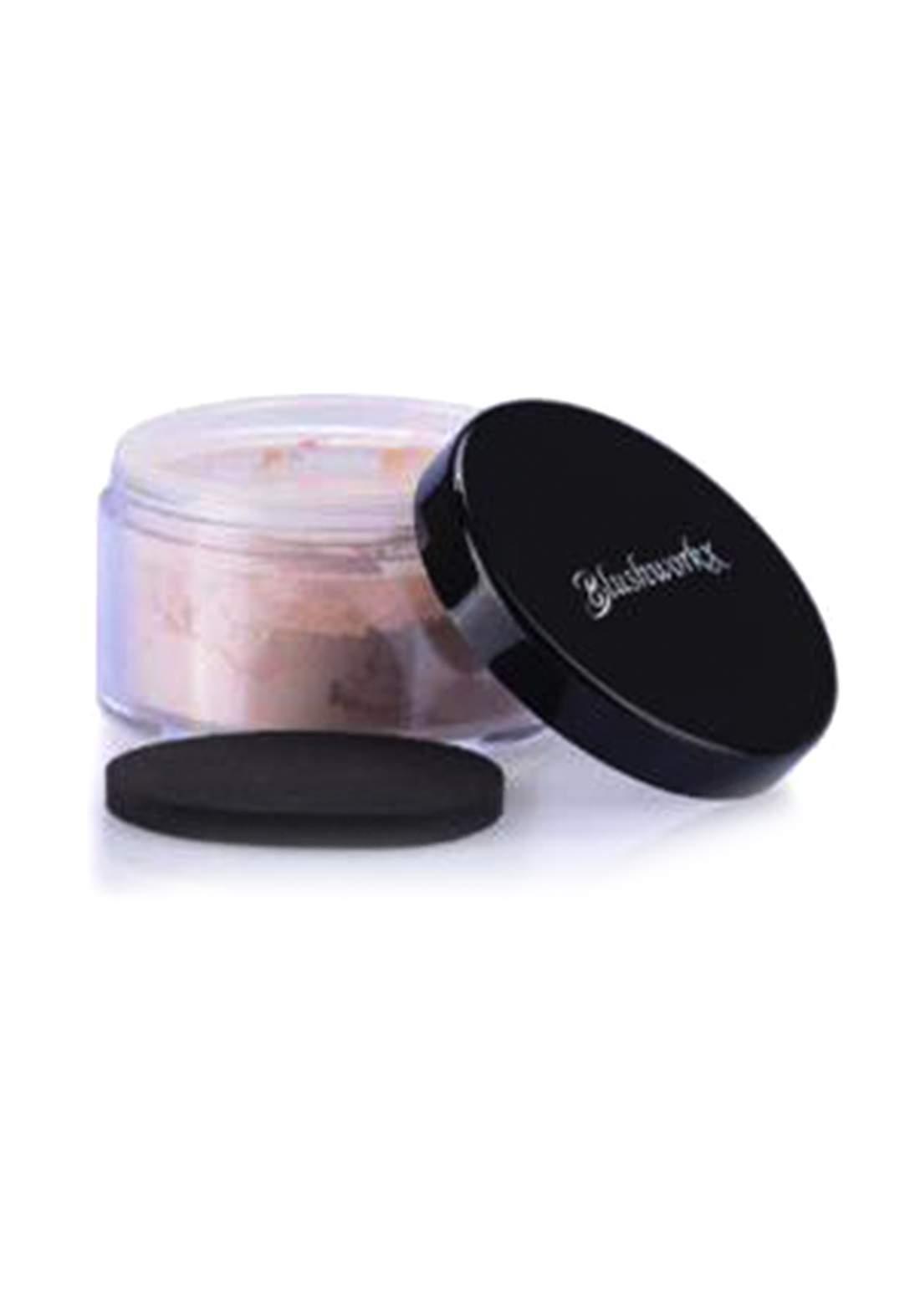 Blushworkx Hollywood Loose Mineral Powder  Foundation SPF 15 7g Nude لوس باودر مع واقي شمس