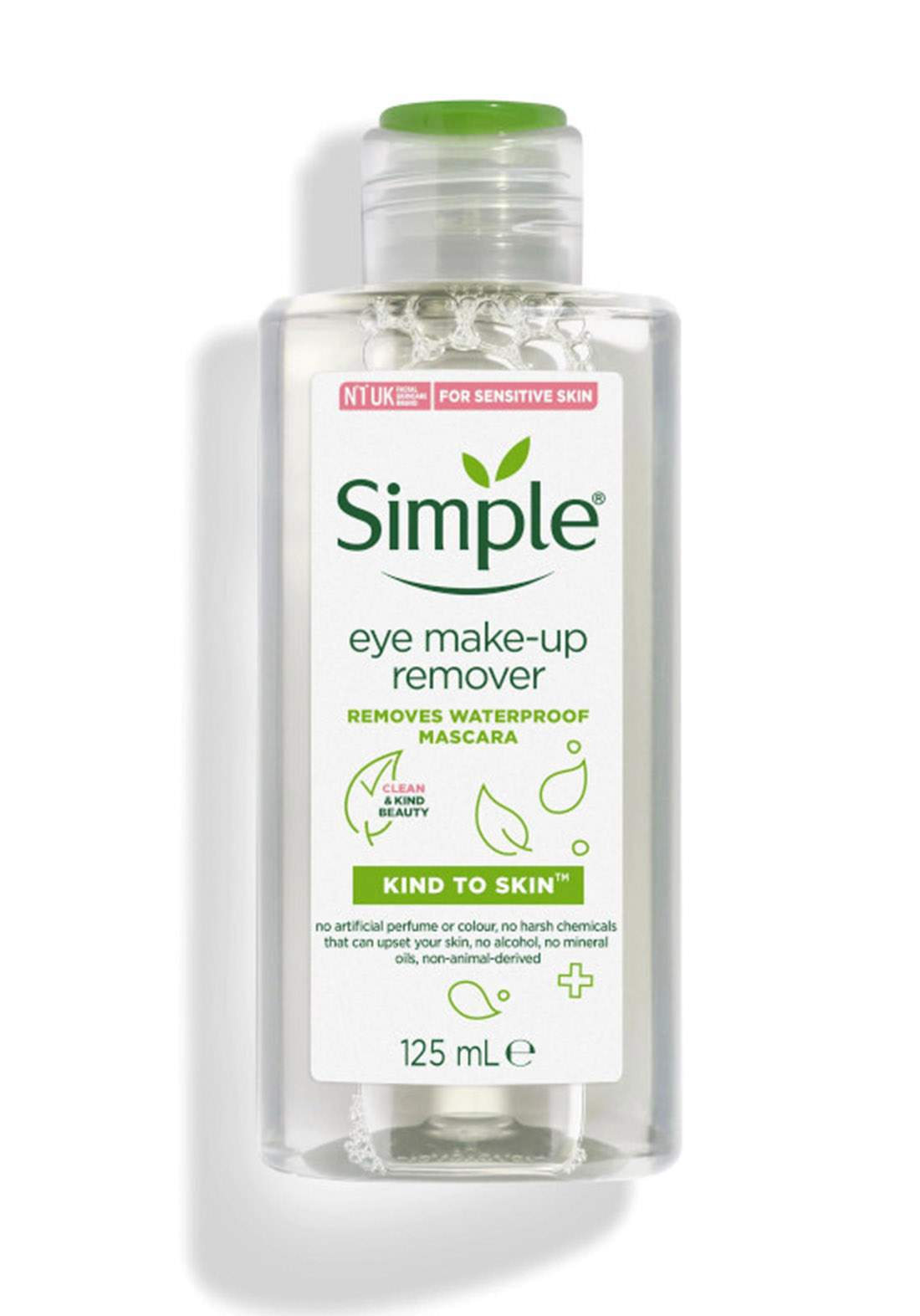 Simple (968438529) Kind To Skin Eye Make-Up Remover - 125ml  مزيل المكياج