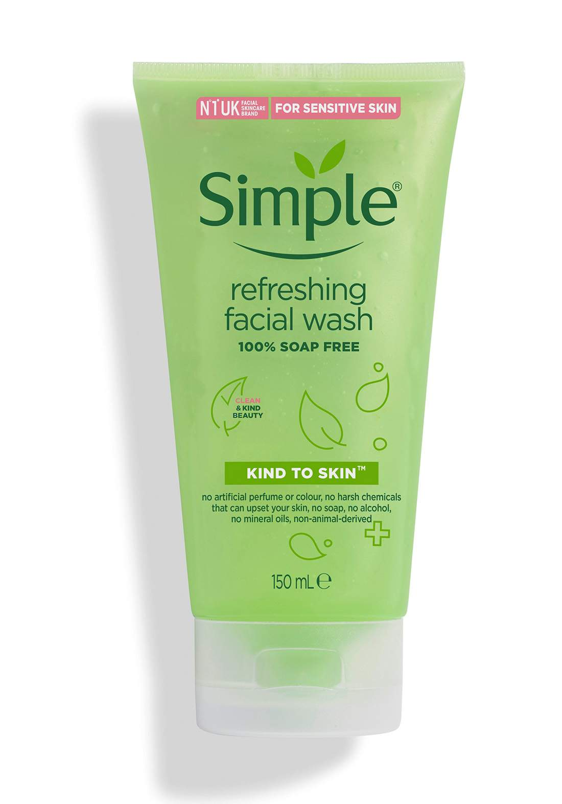 Simple (5311bq) Refreshing Facial Wash Gel For Sensetive Skin 150ml غسول للوجه للبشرة الحساسة