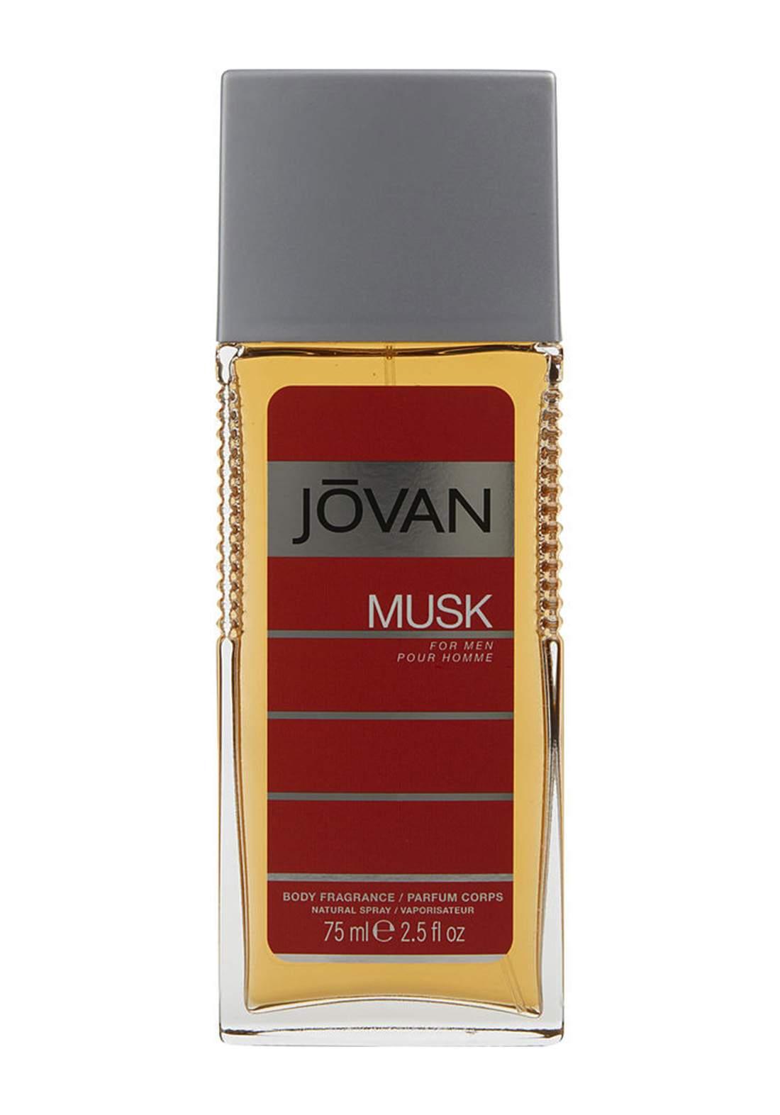 Jovan (9266) Musk Body Spray Fragrance 75ml For Men معطر للرجال