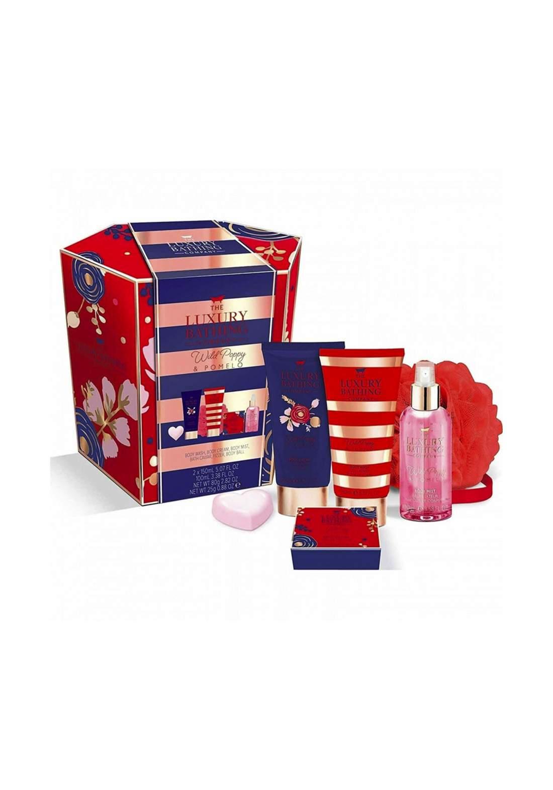 The Luxury Bathing Company Bright Bathing Gift Set مجموعة الاستحمام