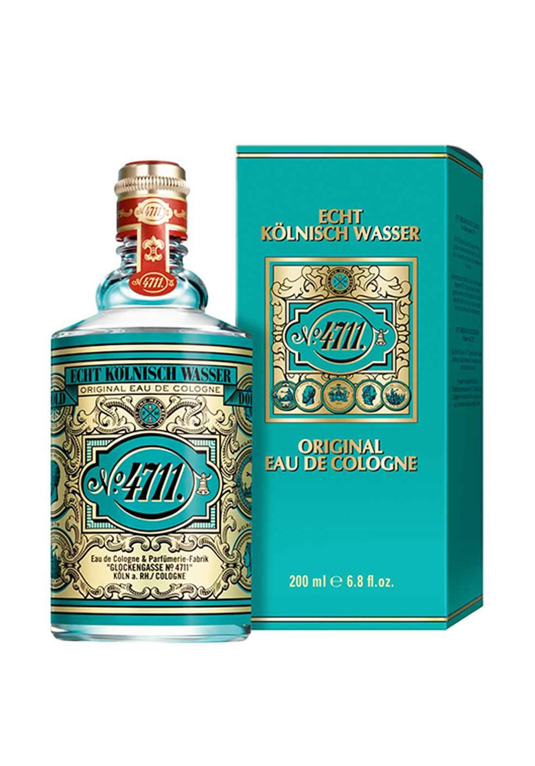 4711 Original Eau De Cologne For Unisex 200ml عطر لكلا الجنسين