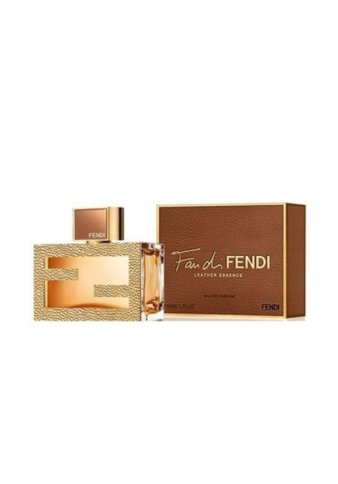 Fendi Fan Di Fendi Leather Essence for Women Eau de Parfum, 50ml - عطر نسائي