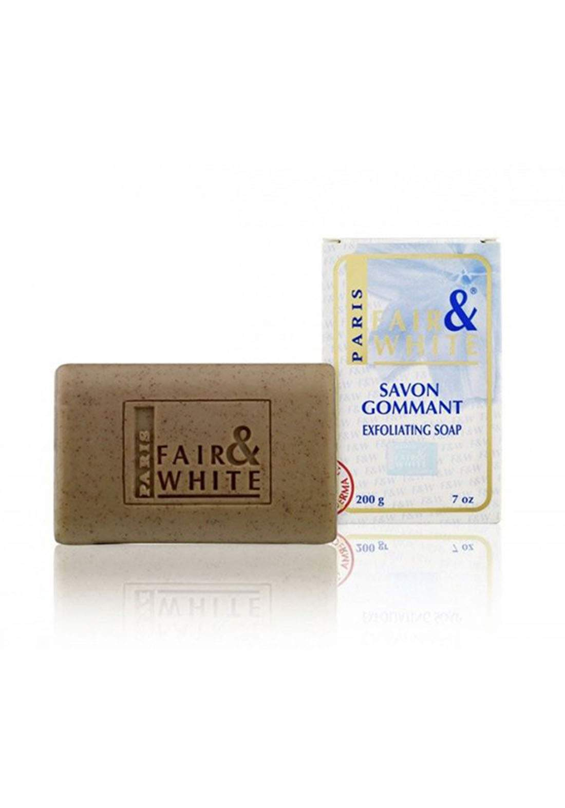 Fair and White Exfoliating Soap - 200g صابون تقشير البشرة