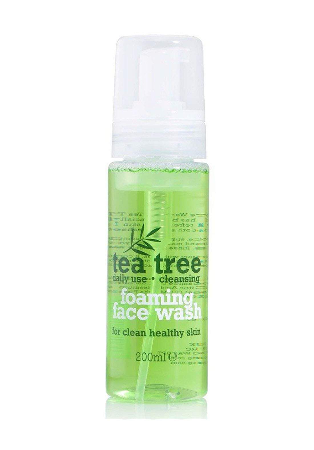 Tea Tree Foaming Face Wash - 200ml غسول للبشرة