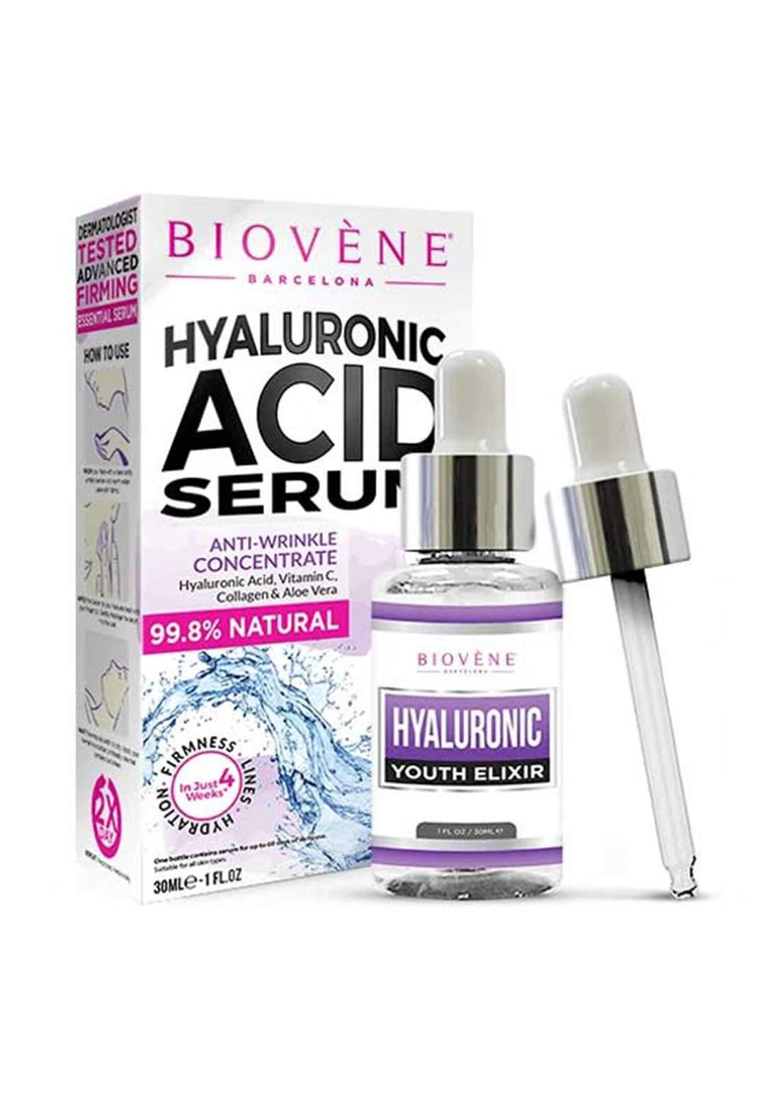 Biovene Hyaluronic Acid Serum - 12ml سيرم البشرة